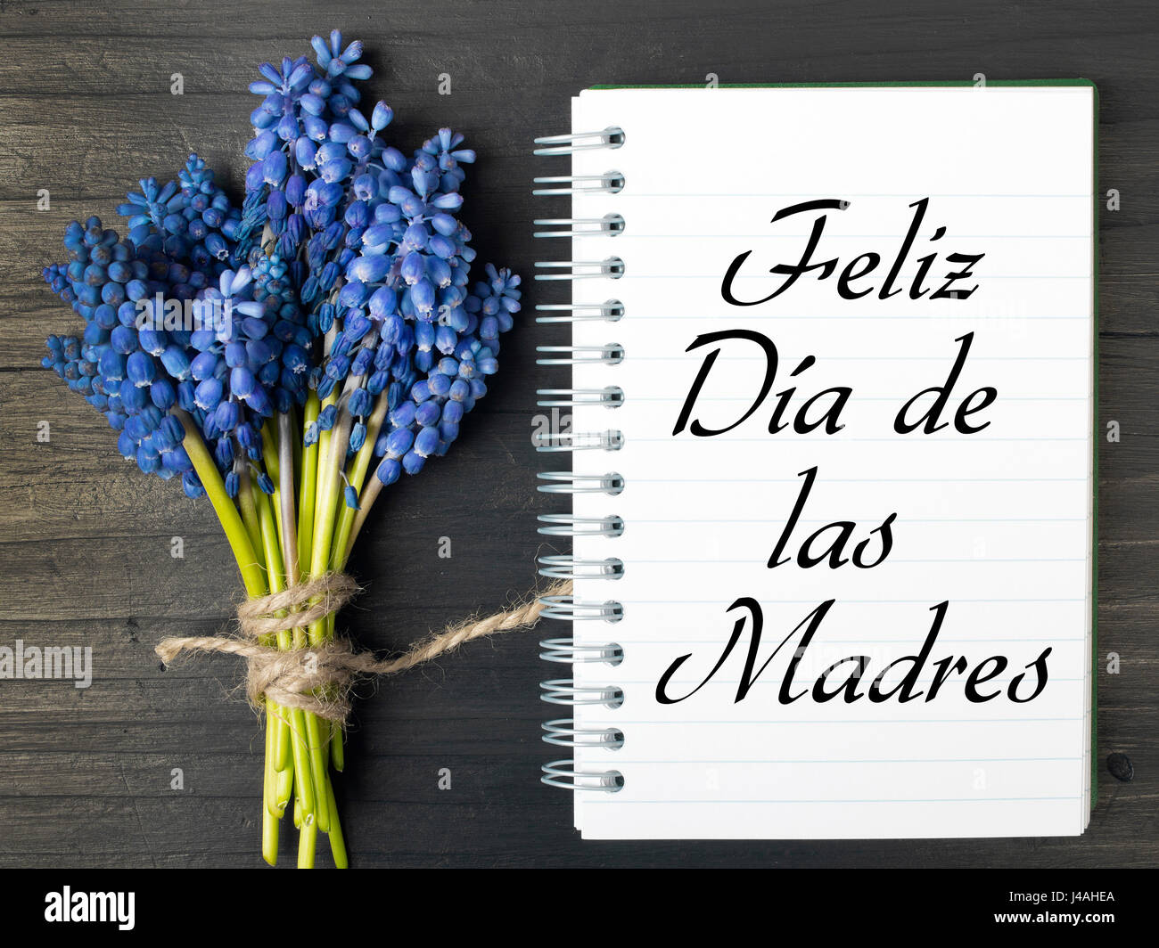 Mothers Day Card Spanish Words Stock Photos Mothers Day Card
