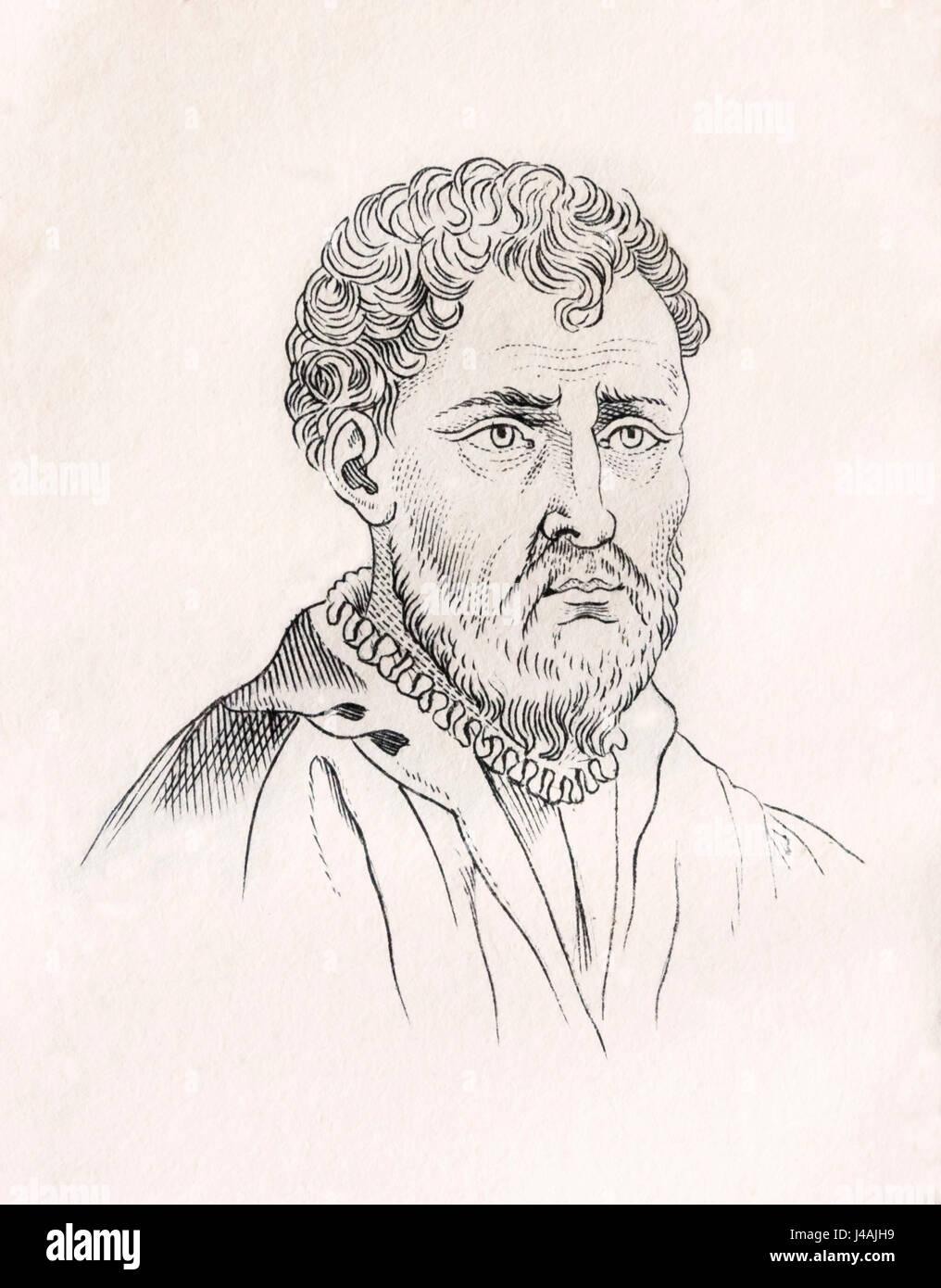 Battista Franco Veneziano aka Giovanni Battista Franco,  il Semolei or Battista Franco, before 1510 – 1561. Italian - Stock Image