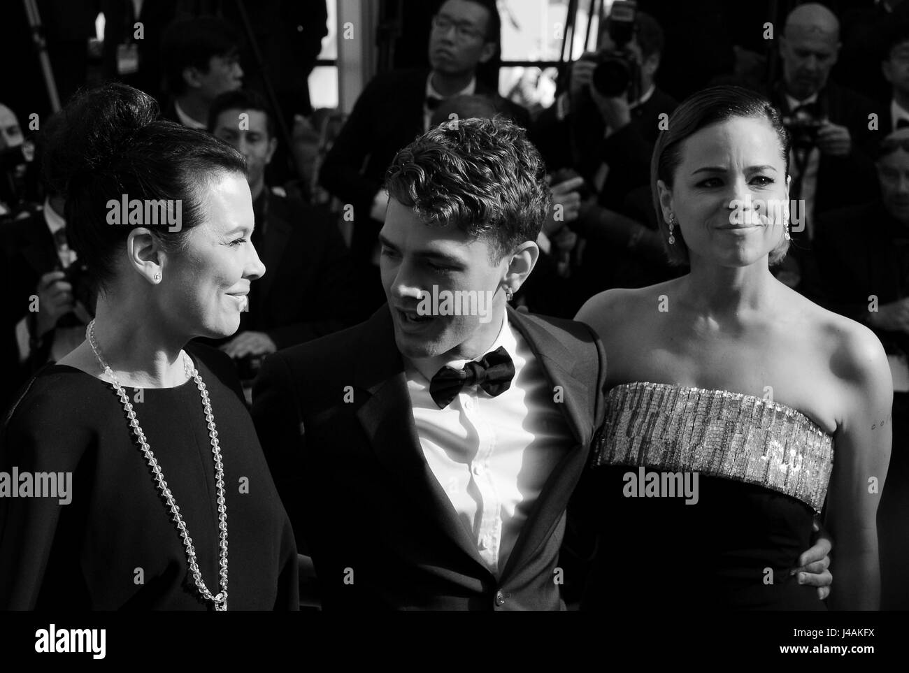 May  14th, 2014 - Cannes  Celebrities attend the 67th Cannes Film Festival - Stock Image