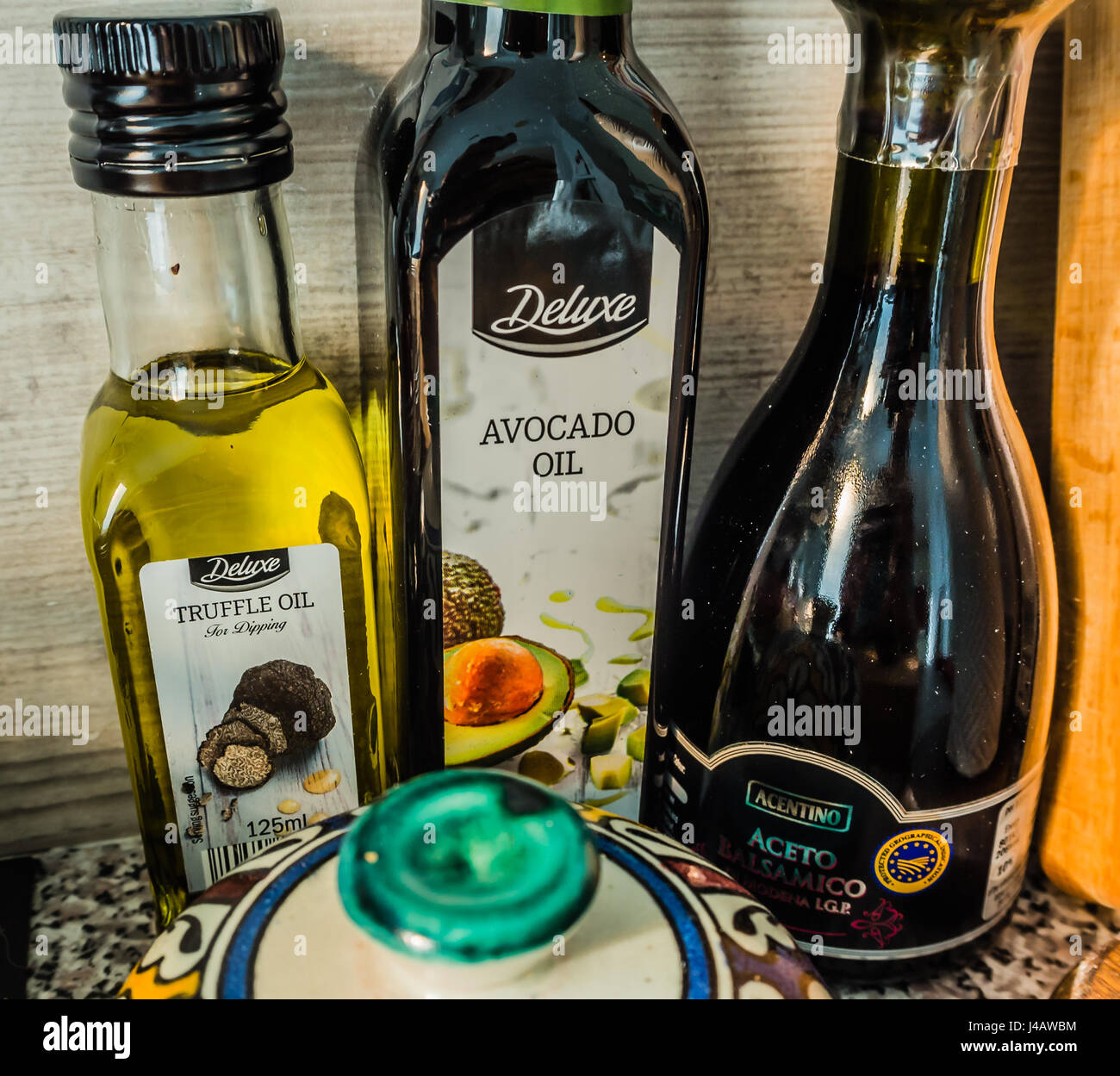 Deluxe Oils From Lidl Stock Photo 140381016 Alamy