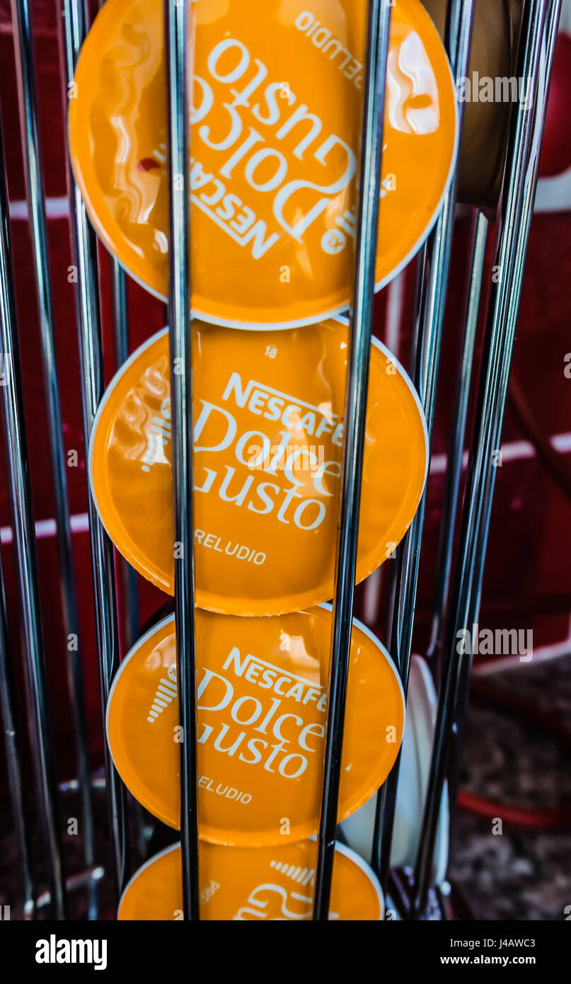 Nescafe Dolce Gusto Preludio Pods - Stock Image