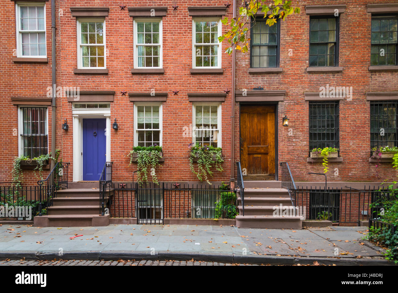 old apartment buildings in greenwich village new york