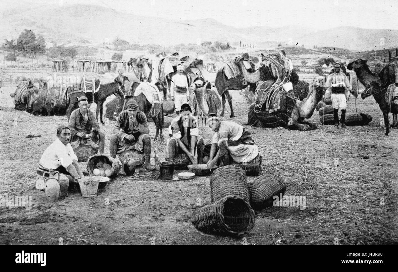 PSM V43 D200 Yuruk encampment - Stock Image