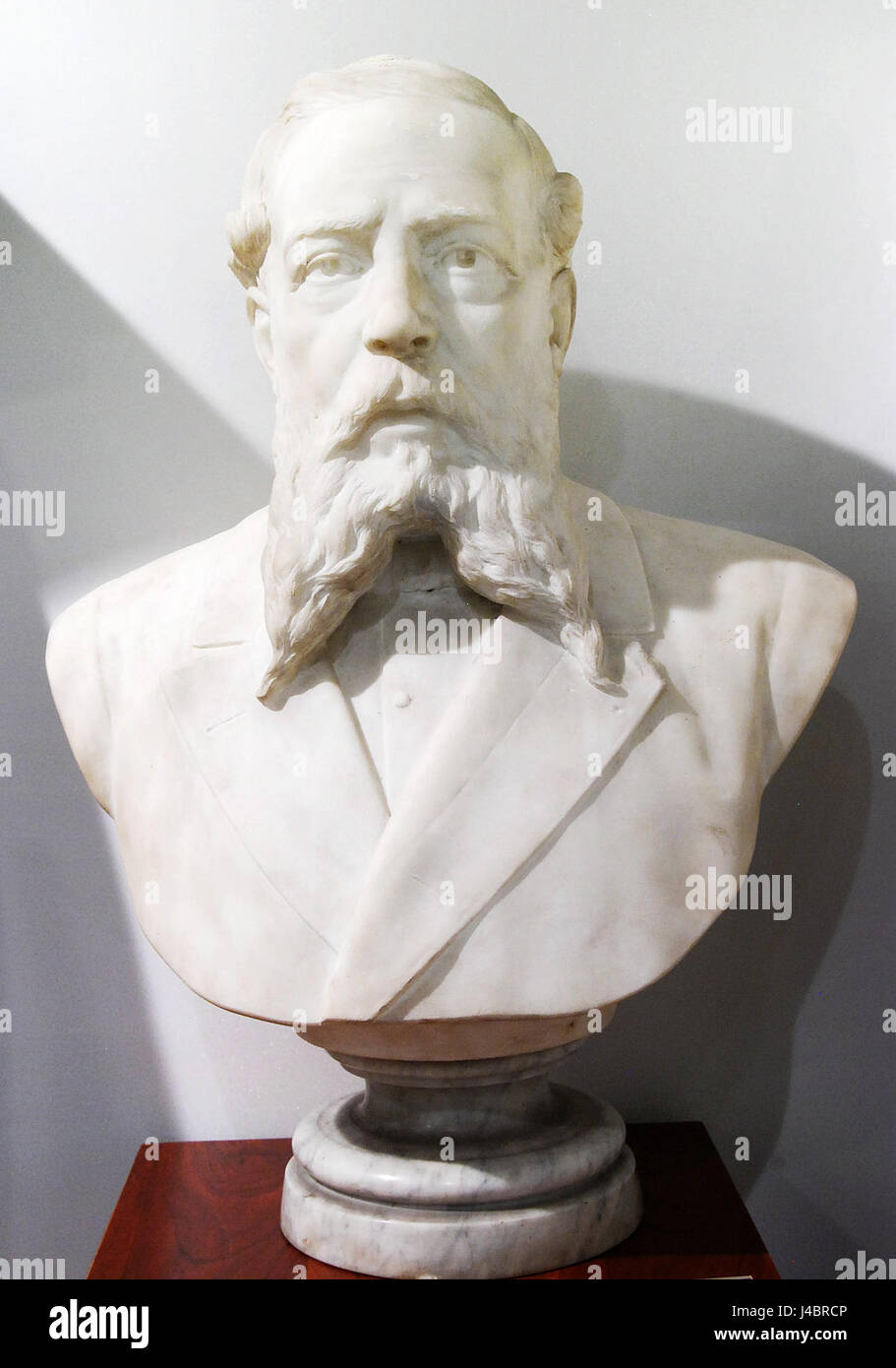 Retrat d'un home (Francesc de Sales Vidal) Stock Photo