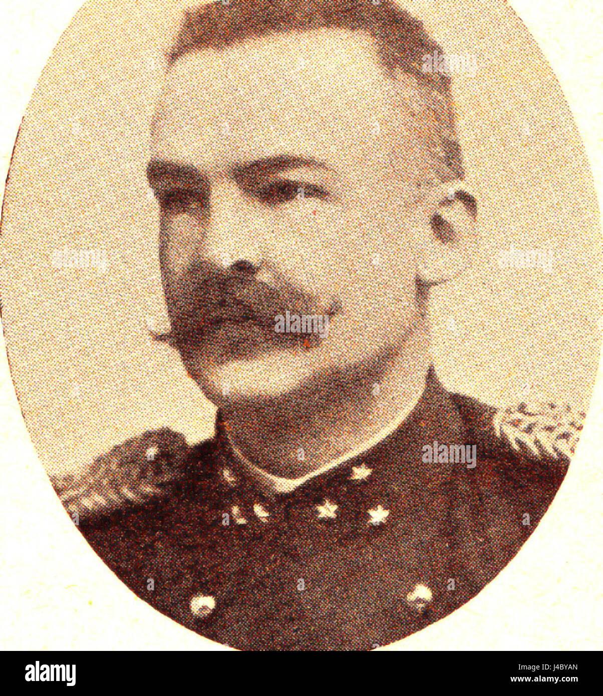 Ram, jhr. JH. Kapitein der grenadiers, medeoprichter Koninklijke Vereniging voor de Luchtvaart - Stock Image