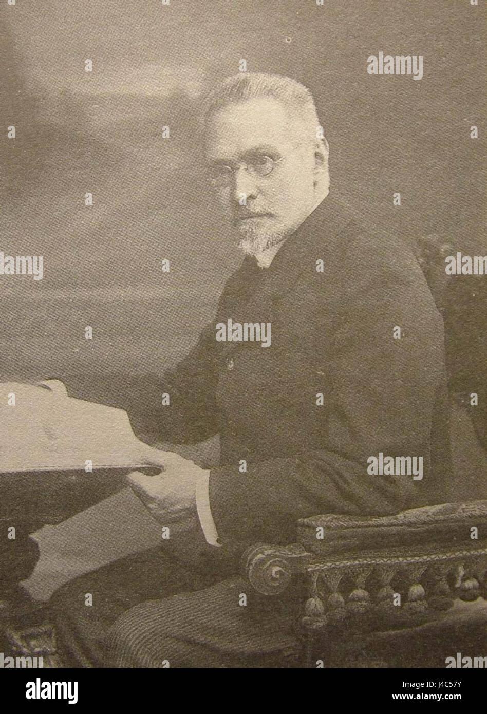 Platonov S.F. 1913. Karl Bulla - Stock Image