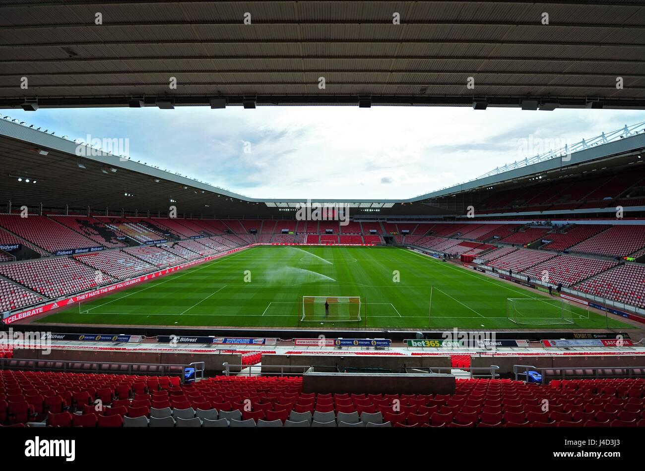 STADIUM OF LLIGHT SUNDERLAND FC V SOUTHAMPTON STADIUM OF LIGHT SUNDERLAND ENGLAND 02 May 2015 Stock Photo