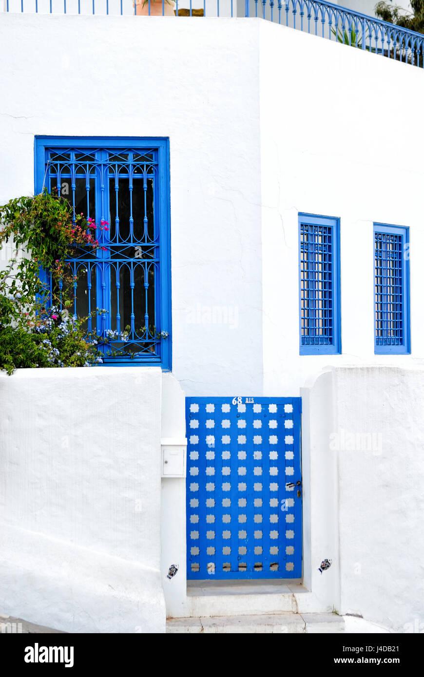 Sidi Bou Said ,Africa, North Africa, Tunisia Stock Photo