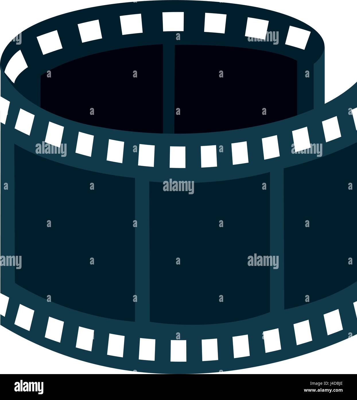 tape film isolated icon Stock Vector