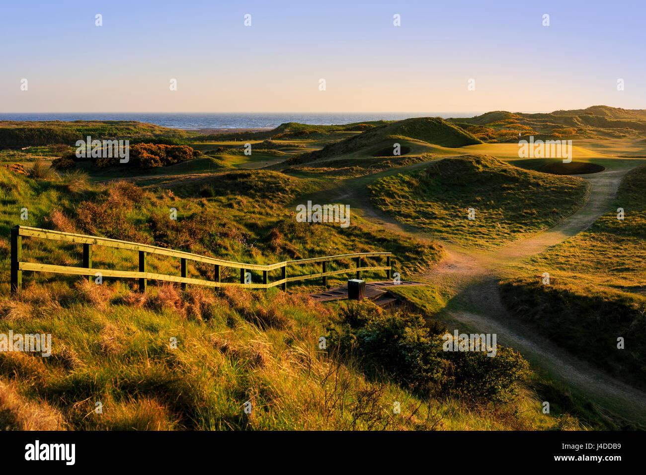 Postage Stamp Hole 8th At Royal Troon Golf Club Ayrshire Scotland UK
