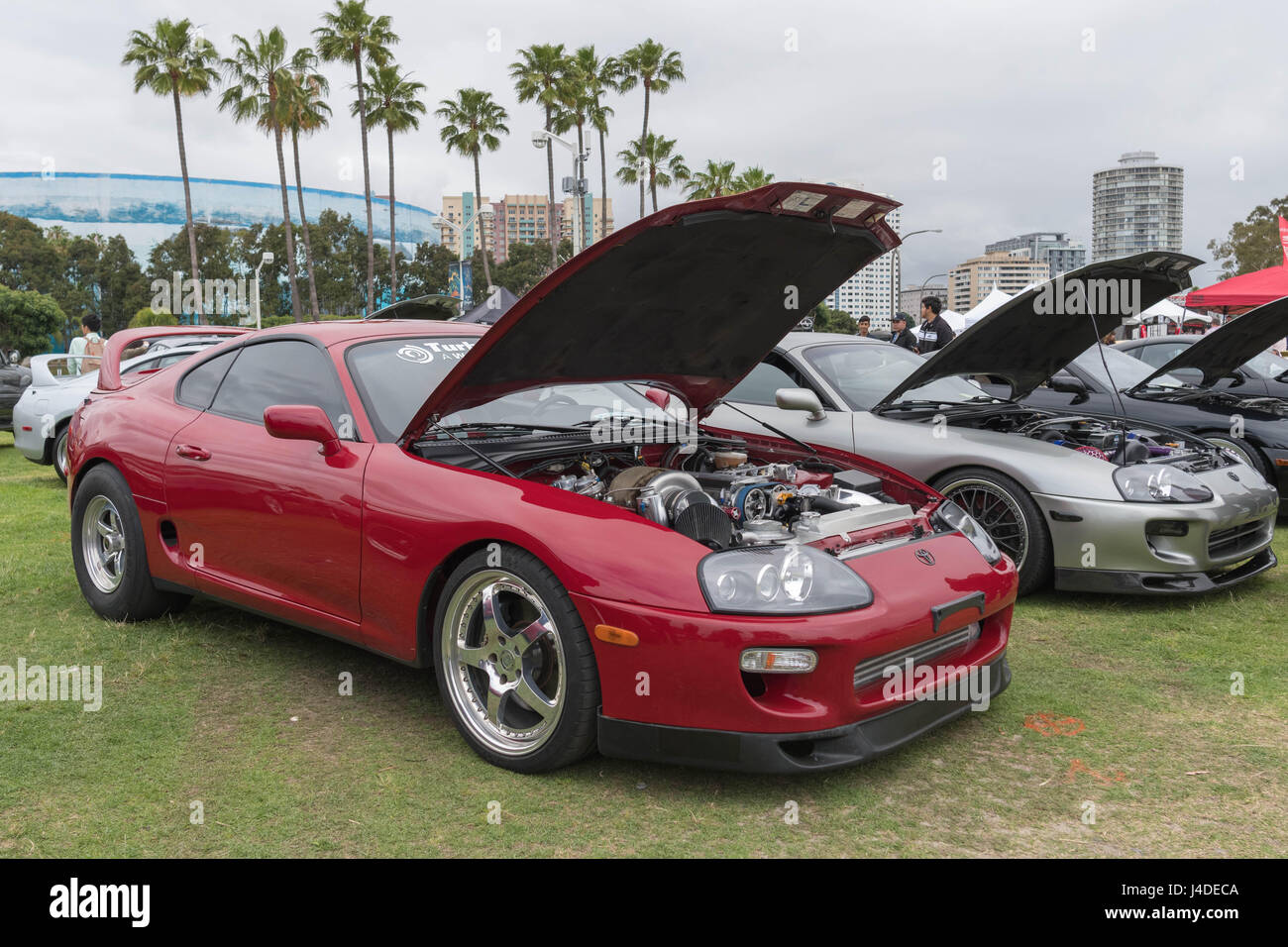 2017 Toyota Supra >> Long Beach Usa May 6 2017 Toyota Supra 1994 On Display During