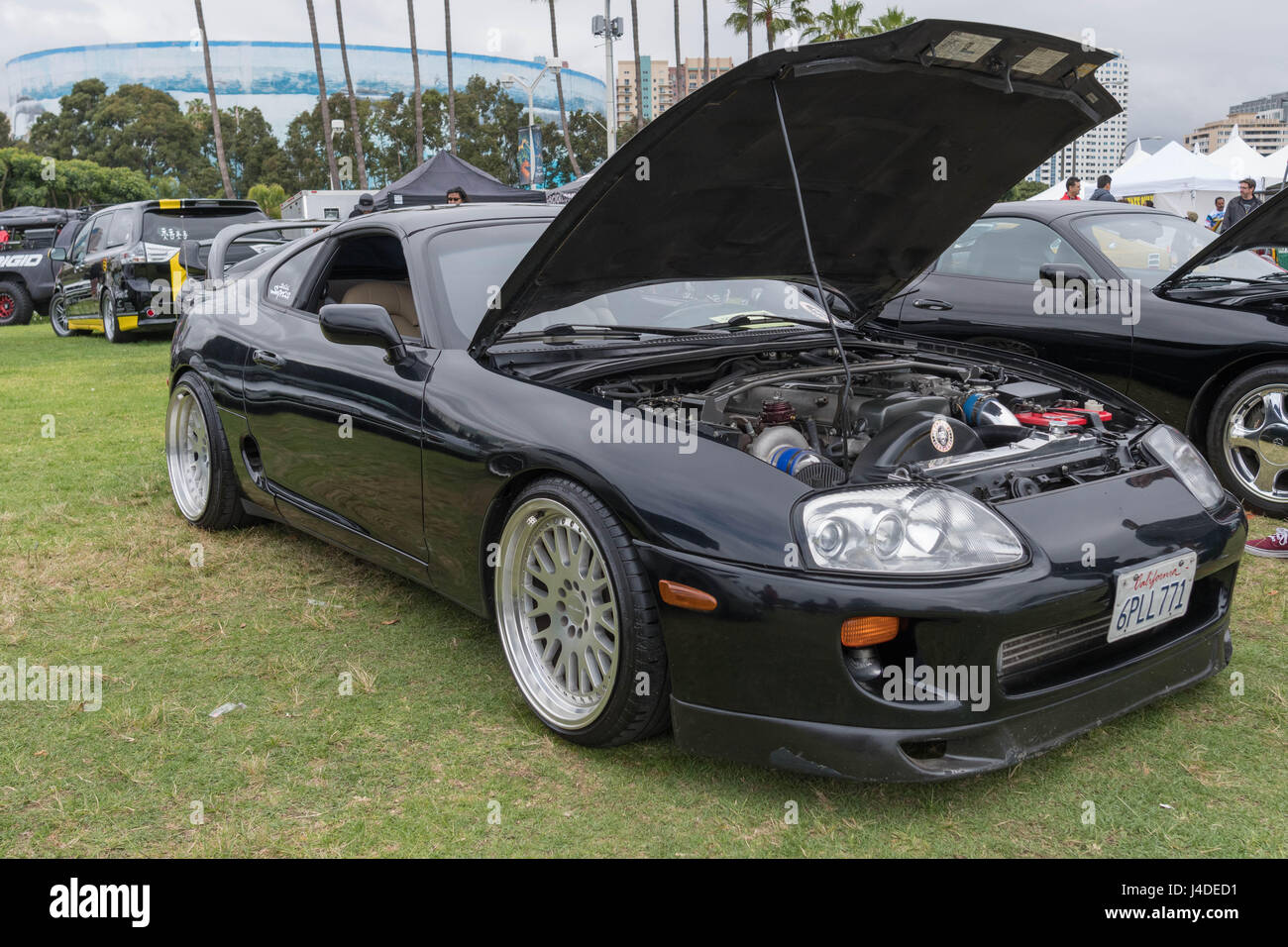 2017 Toyota Supra >> Long Beach Usa May 6 2017 Toyota Supra 1993 On Display