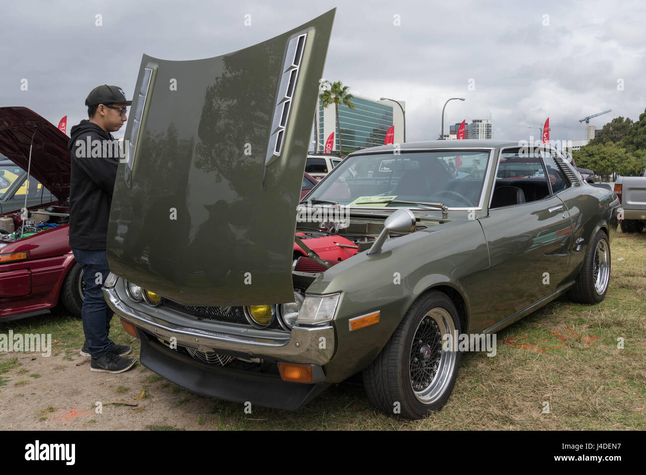 Toyota Celica Stock Photos Images Alamy 1973 Gt Liftback Long Beach Usa May 6 2017 On Display During The