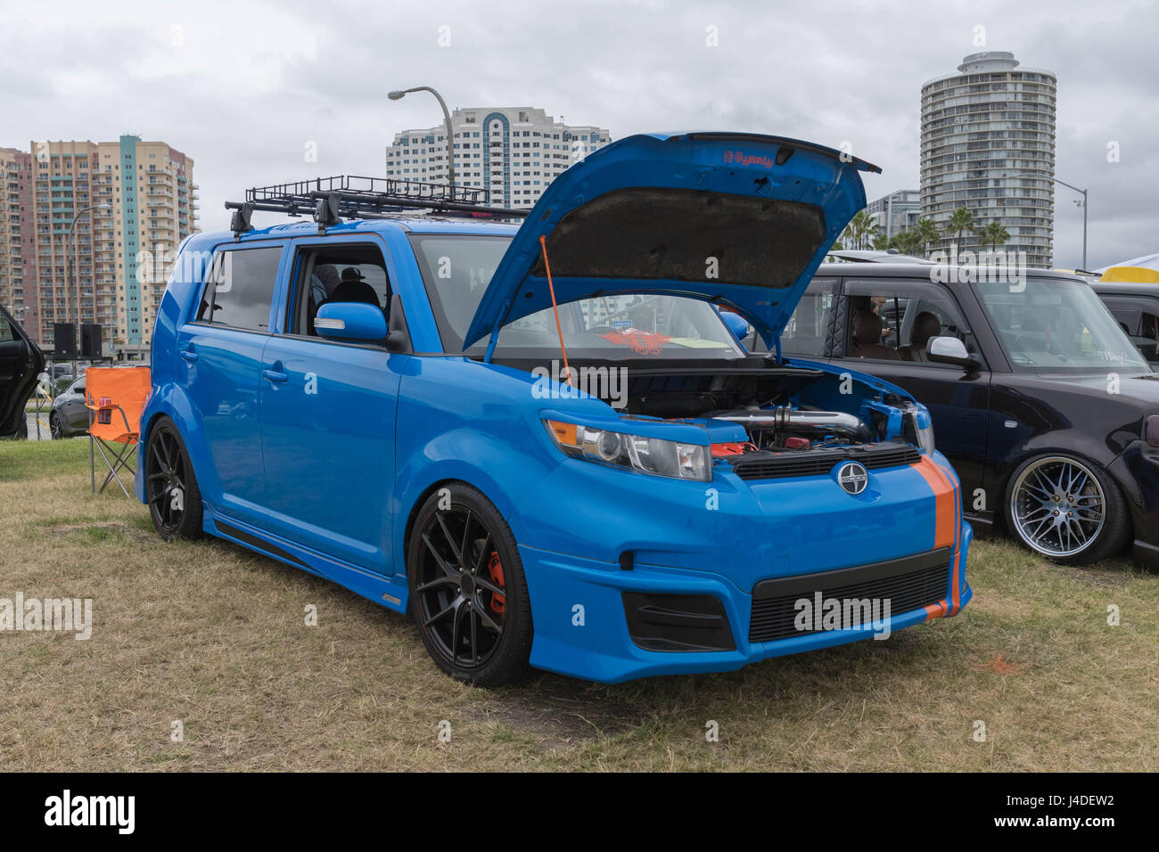 Long Beach Usa May 6 2017 Scion Xb 2011 On Display During The