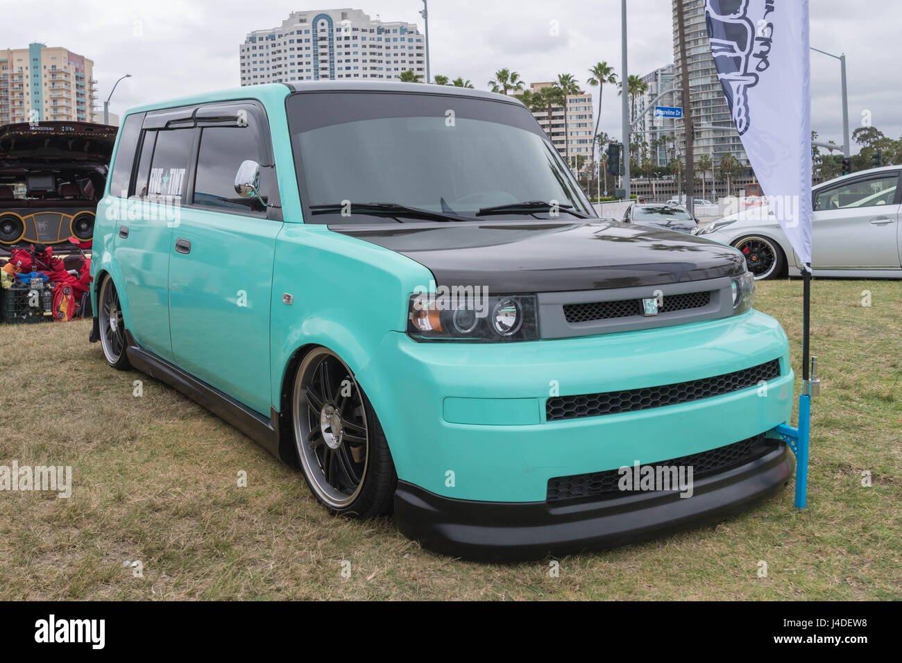 Long Beach Usa May 6 2017 Scion Xb On Display During The 22nd