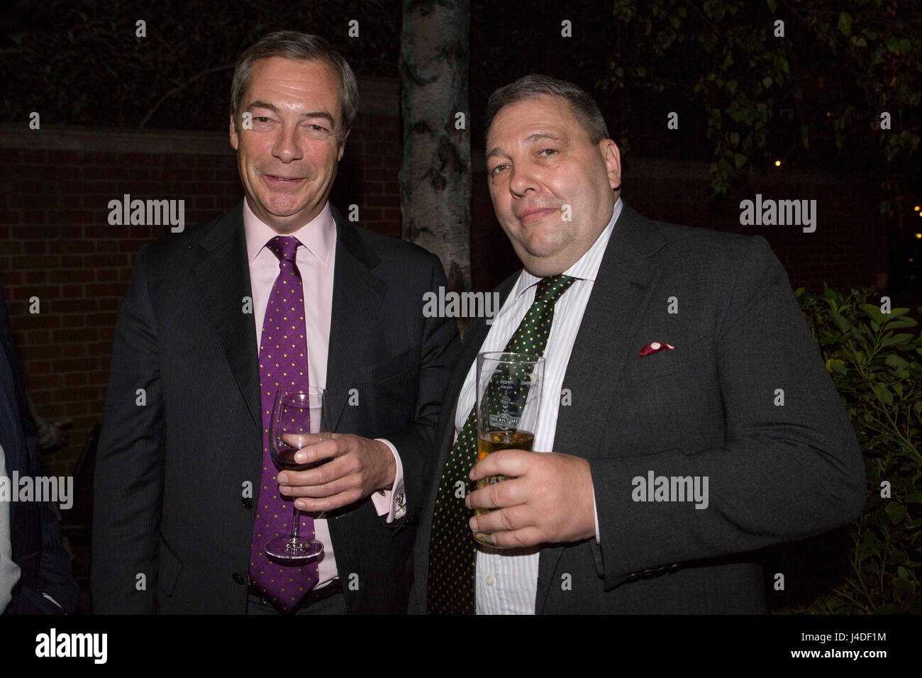 767297d1cfc5 Former Ukip leader Nigel Farage (left) with leader of Ukip Scotland David  Coburn (right) at the launch of Bill Etheridge s new book