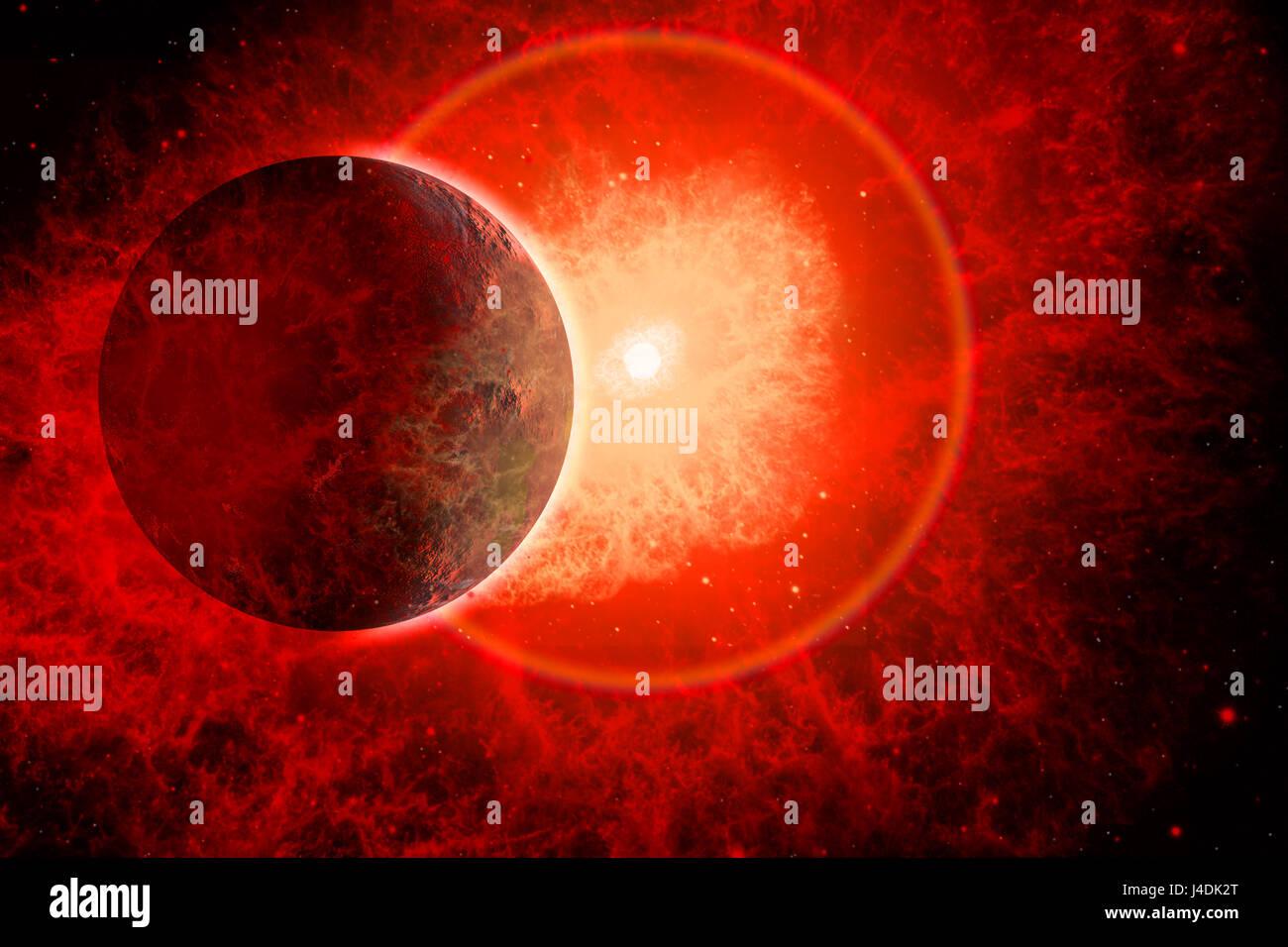 Supernova - Stock Image