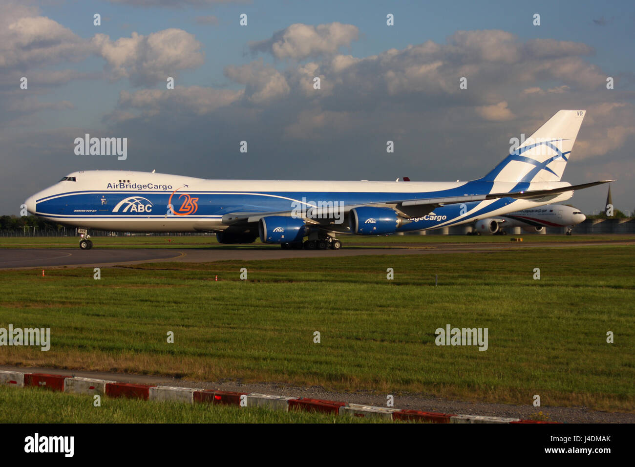 AIR BRIDGE CARGO 747 800 - Stock Image