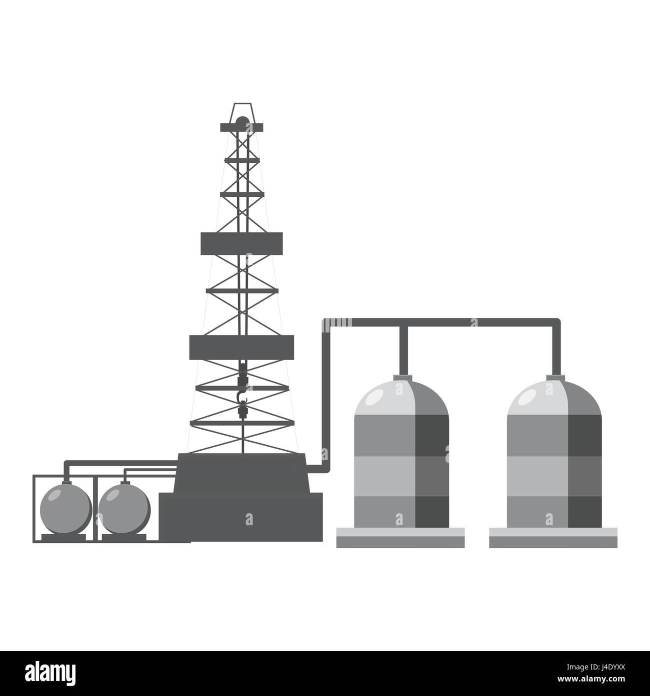 Welding Equipment Cartoon Stock Photos Diagram Refinery Icon Gray Monochrome Style Image