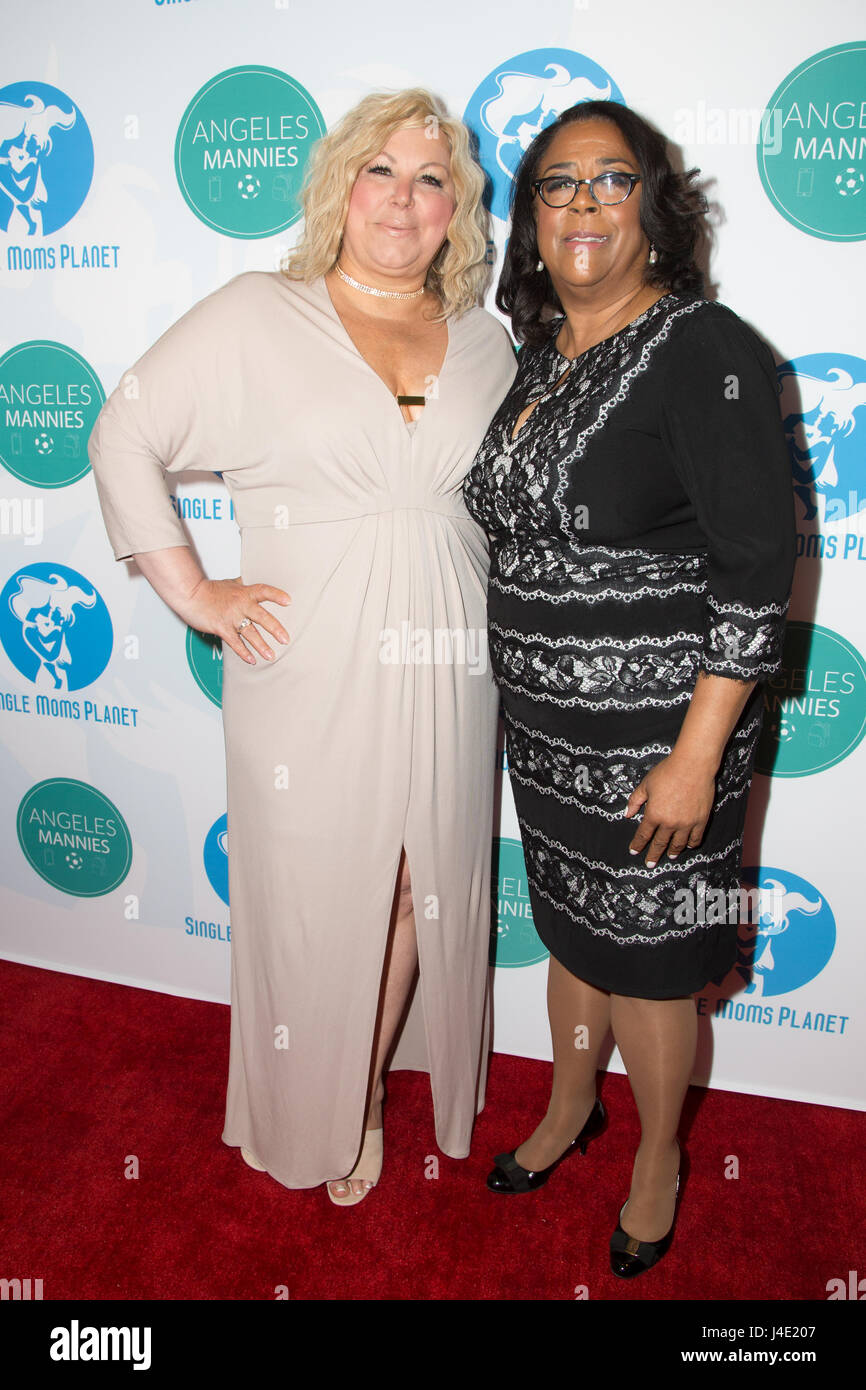 Beverly Hills, California, USA. 11th May, 2017. Award honorees Jan Perry and Karla Keene attending the 4th Annual Stock Photo