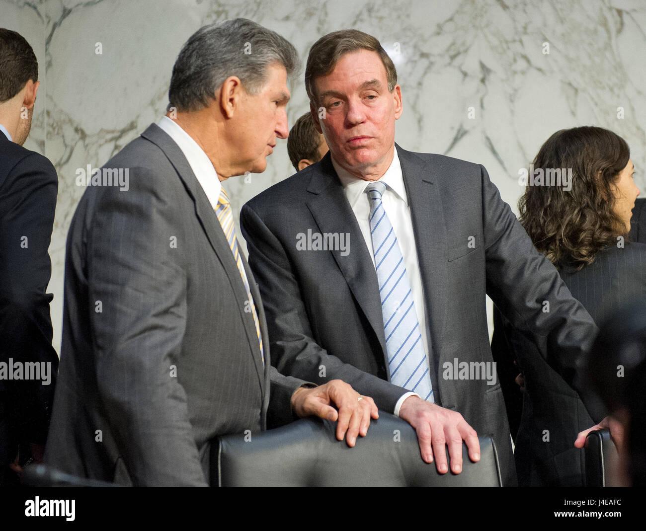 United States Senators Joe Minchin (Democrat of West