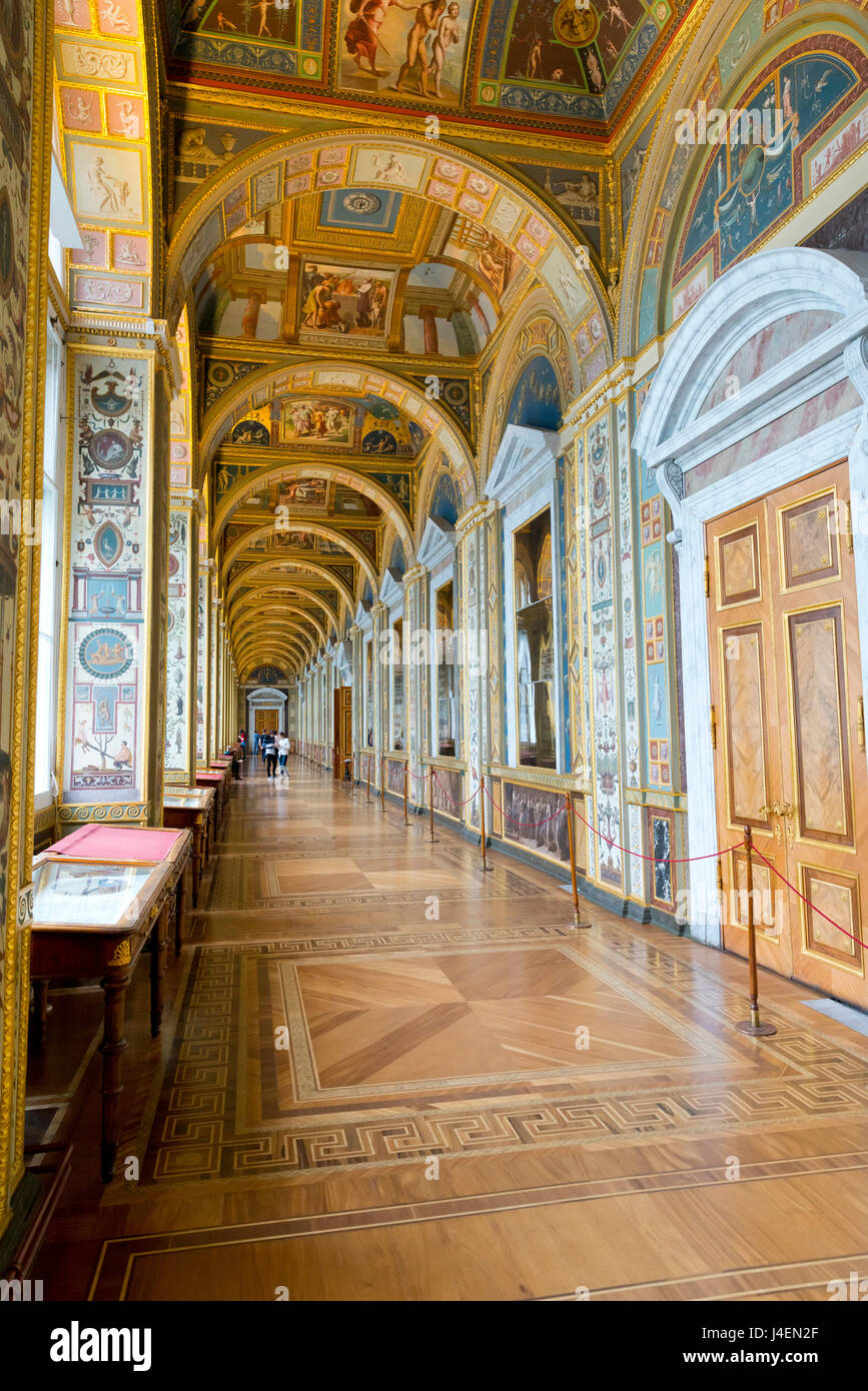 Interior Of The Winter Palace State Hermitage Museum Unesco