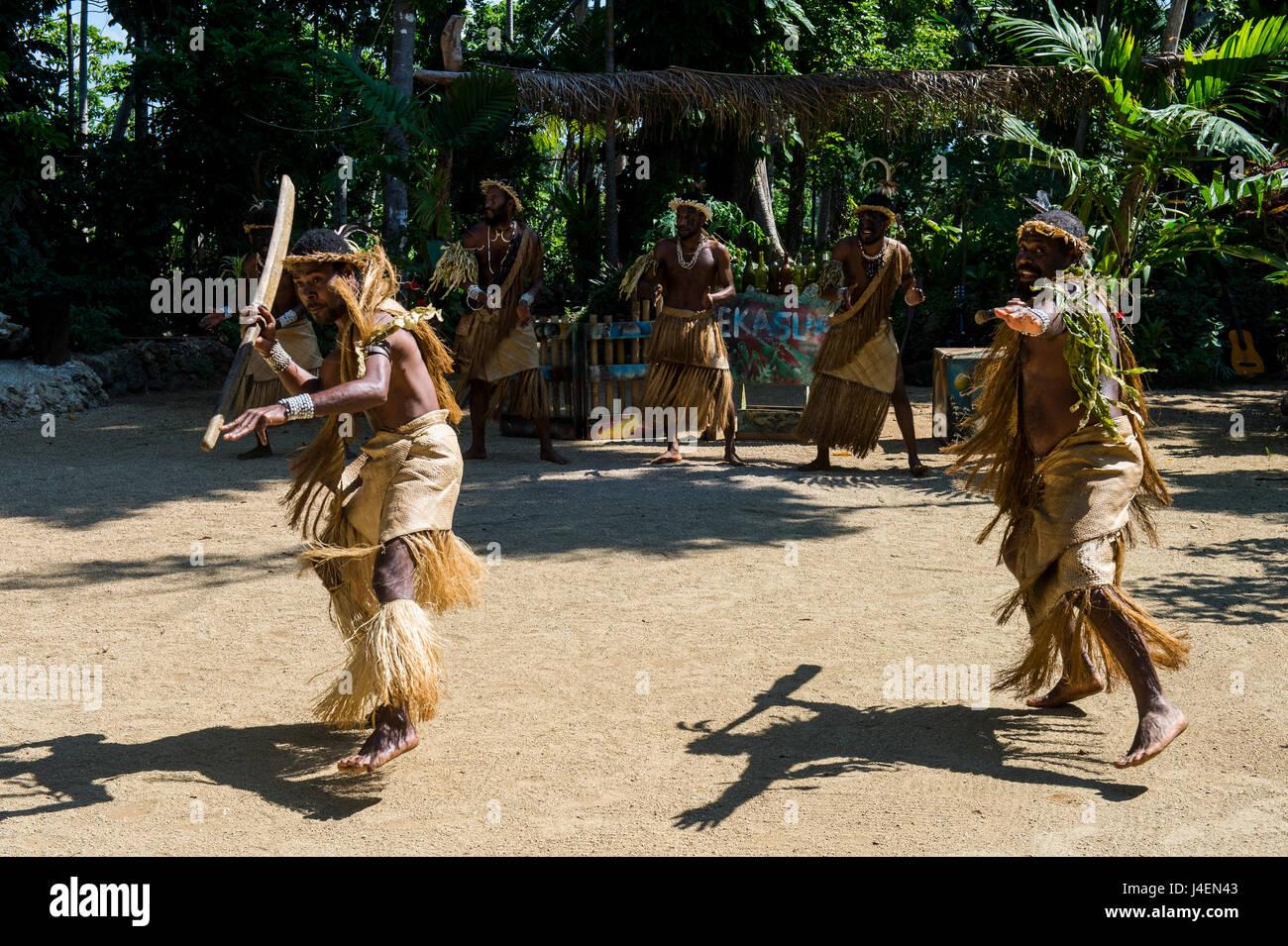 Ekasup Cultural Village, Efate, Vanuatu, Pacific - Stock Image