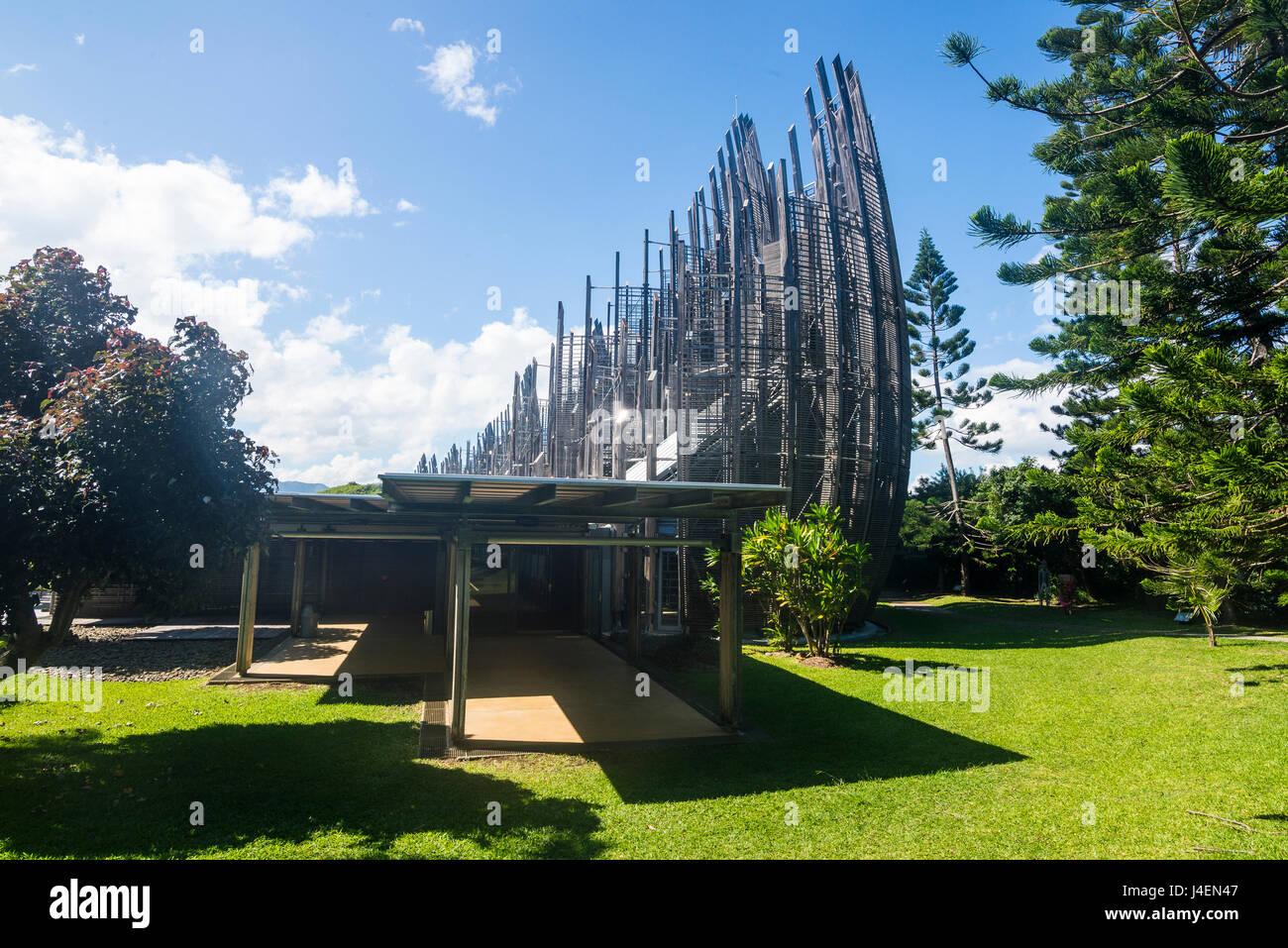 Jean-Marie Tjibaou Cultural Centre, Noumea, New Caledonia, Pacific - Stock Image