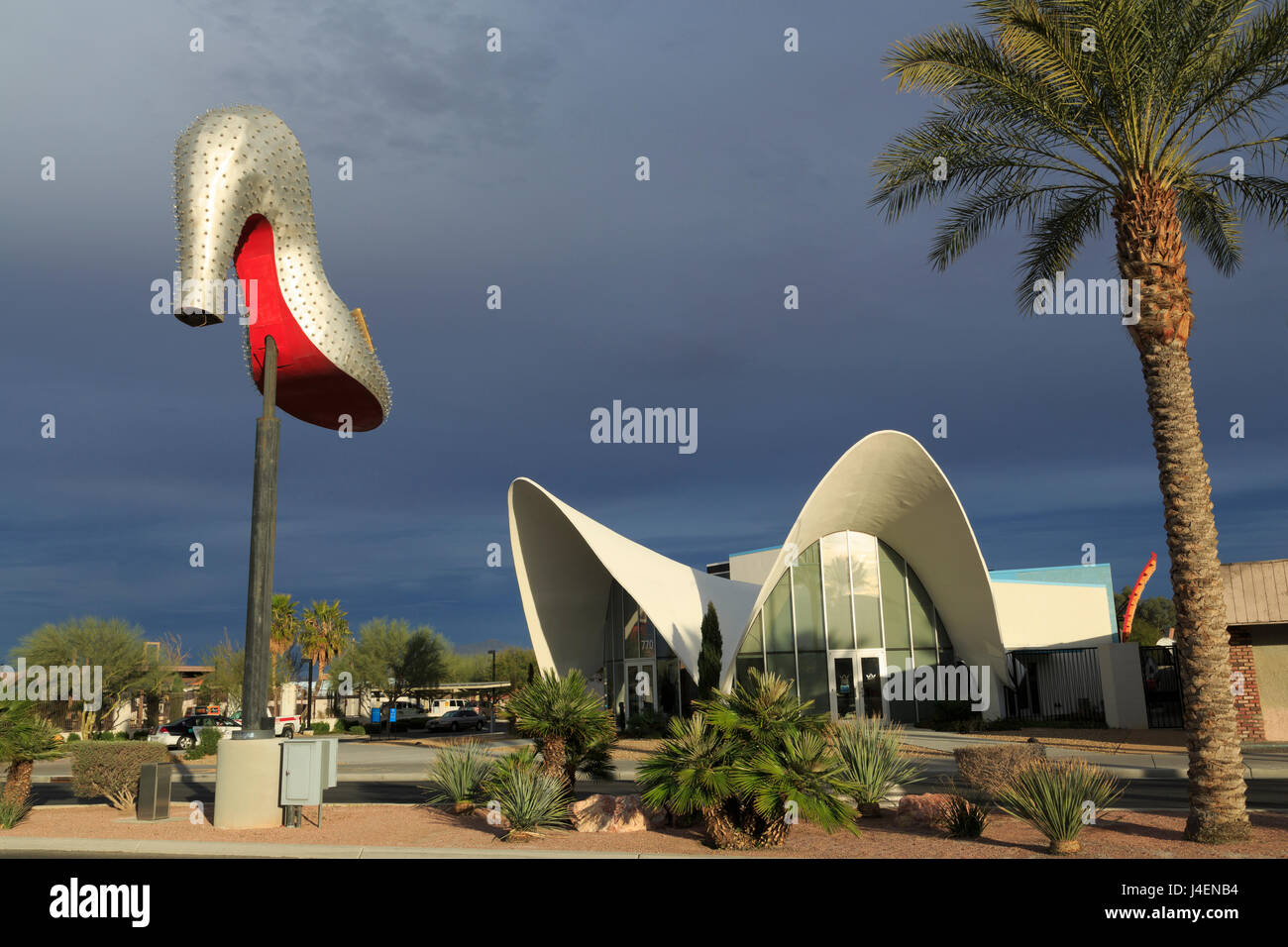 Neon Museum, Downtown District, Las Vegas, Nevada, United States of America, North America - Stock Image