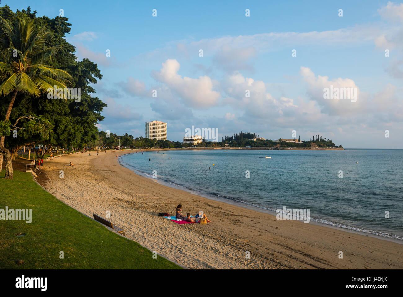 Baie des Citrons beach, Noumea, New Caledonia, Pacific - Stock Image