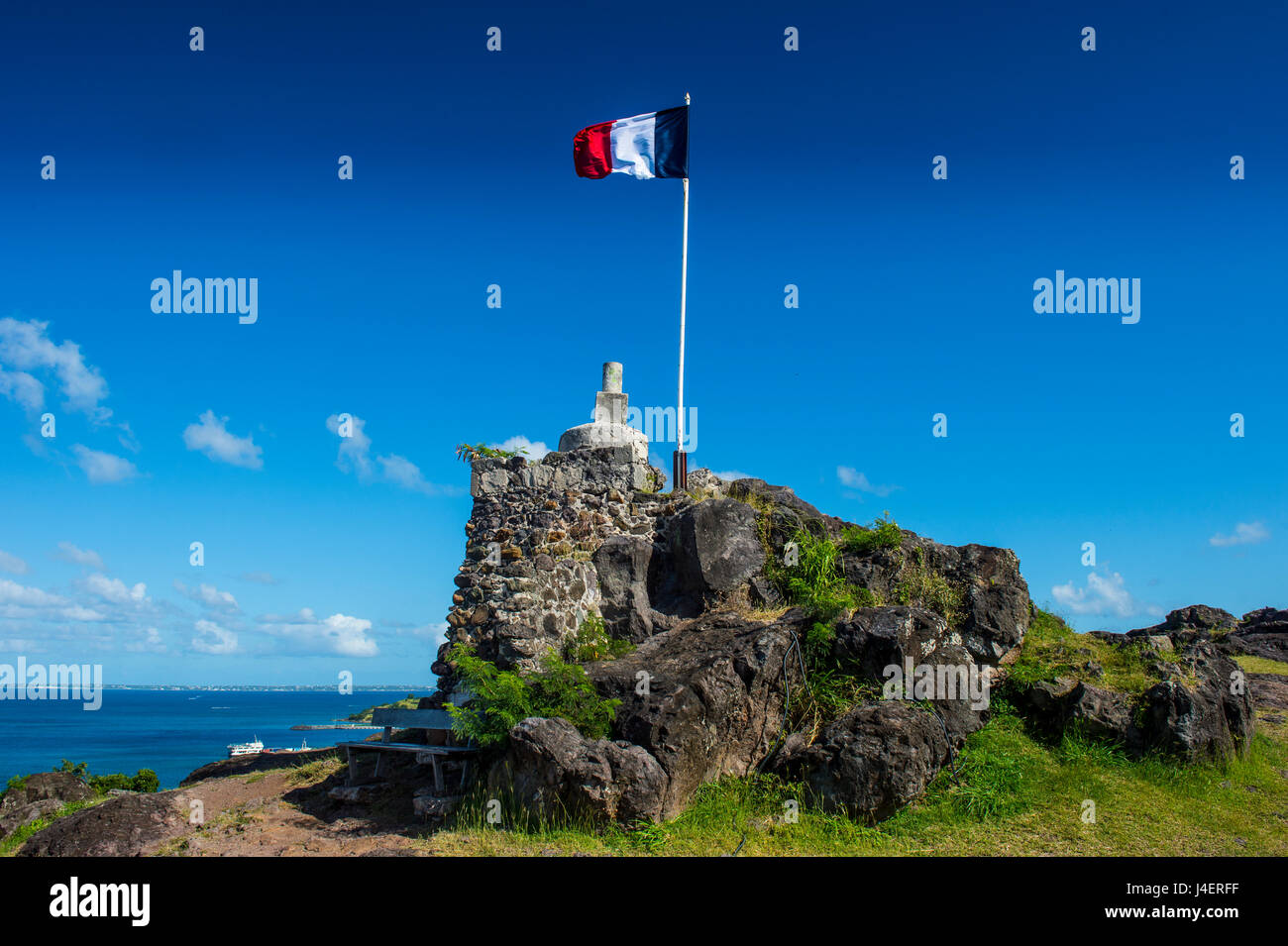 Fort St. Louis, St. Martin, French territory, West Indies, Caribbean, Central America - Stock Image