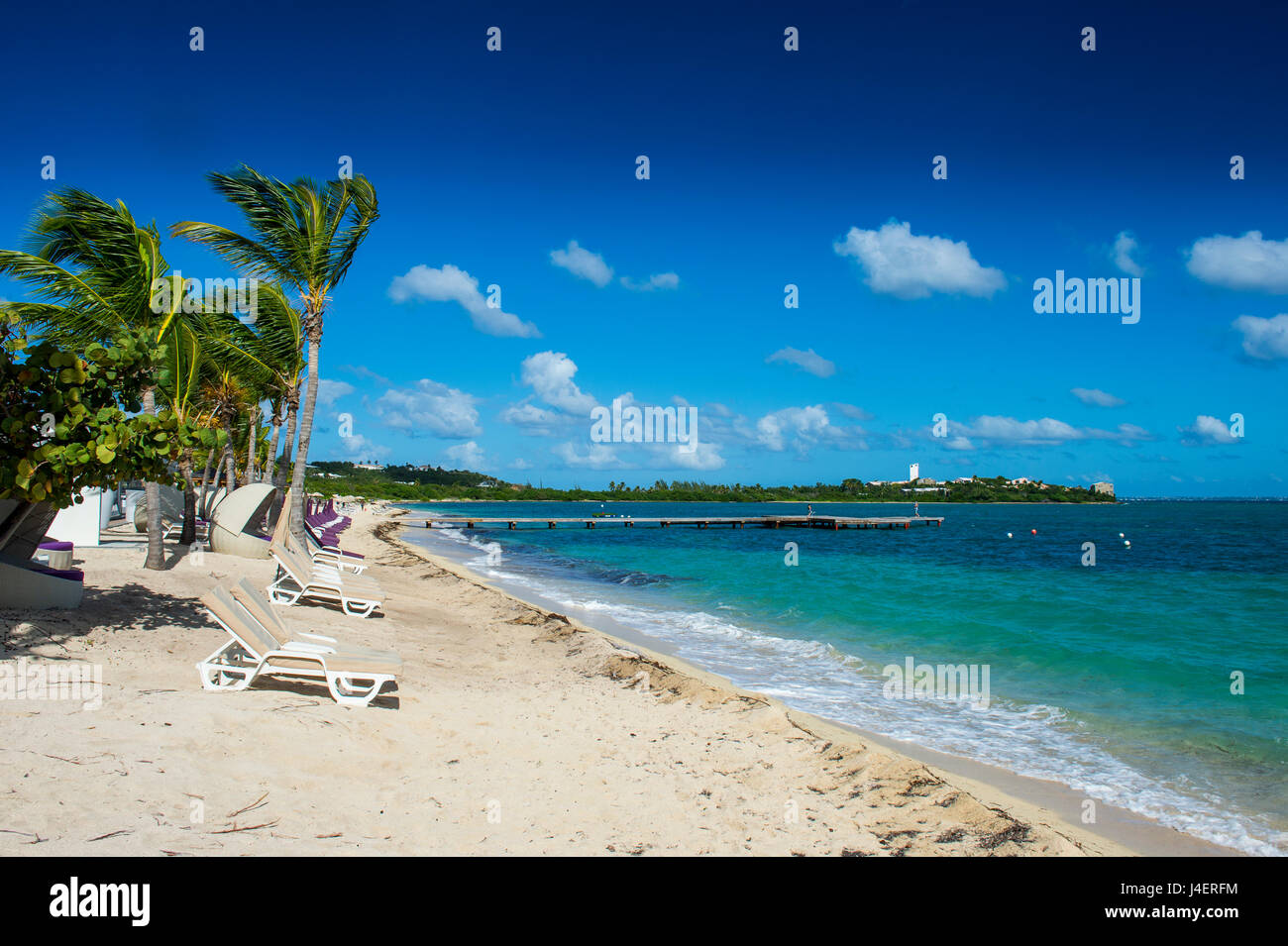 St. Martin, French territory, West Indies, Caribbean, Central America - Stock Image