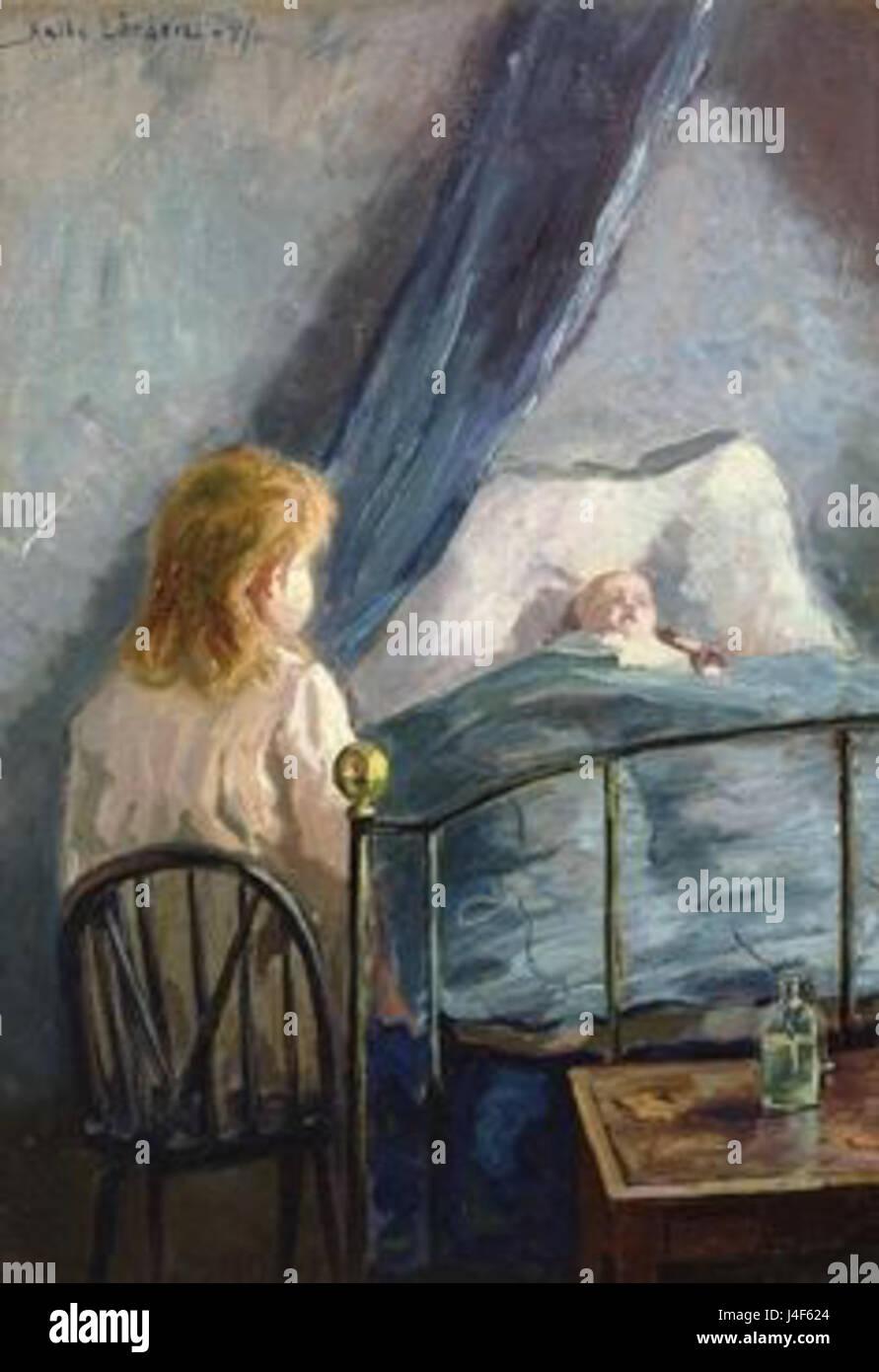 Kalle Lochen  Siblings - Stock Image