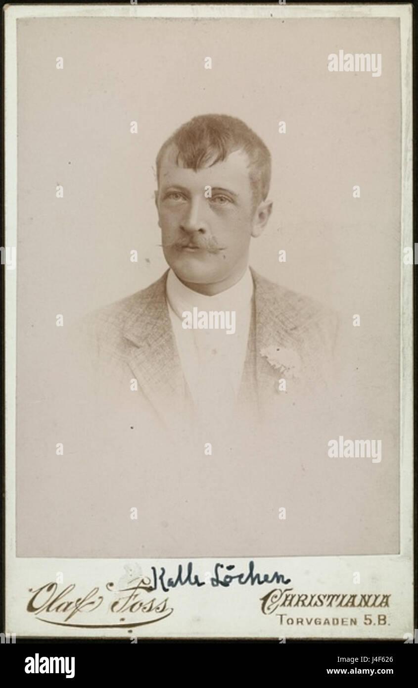 Kalle Lochen  1893 - Stock Image