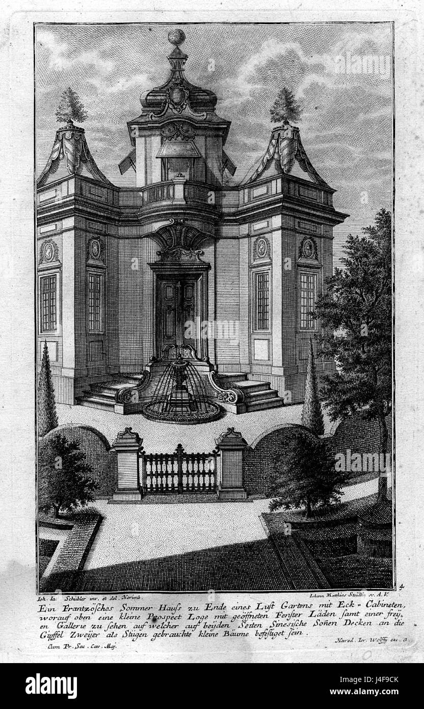 Schuebler Sommerhaus - Stock Image