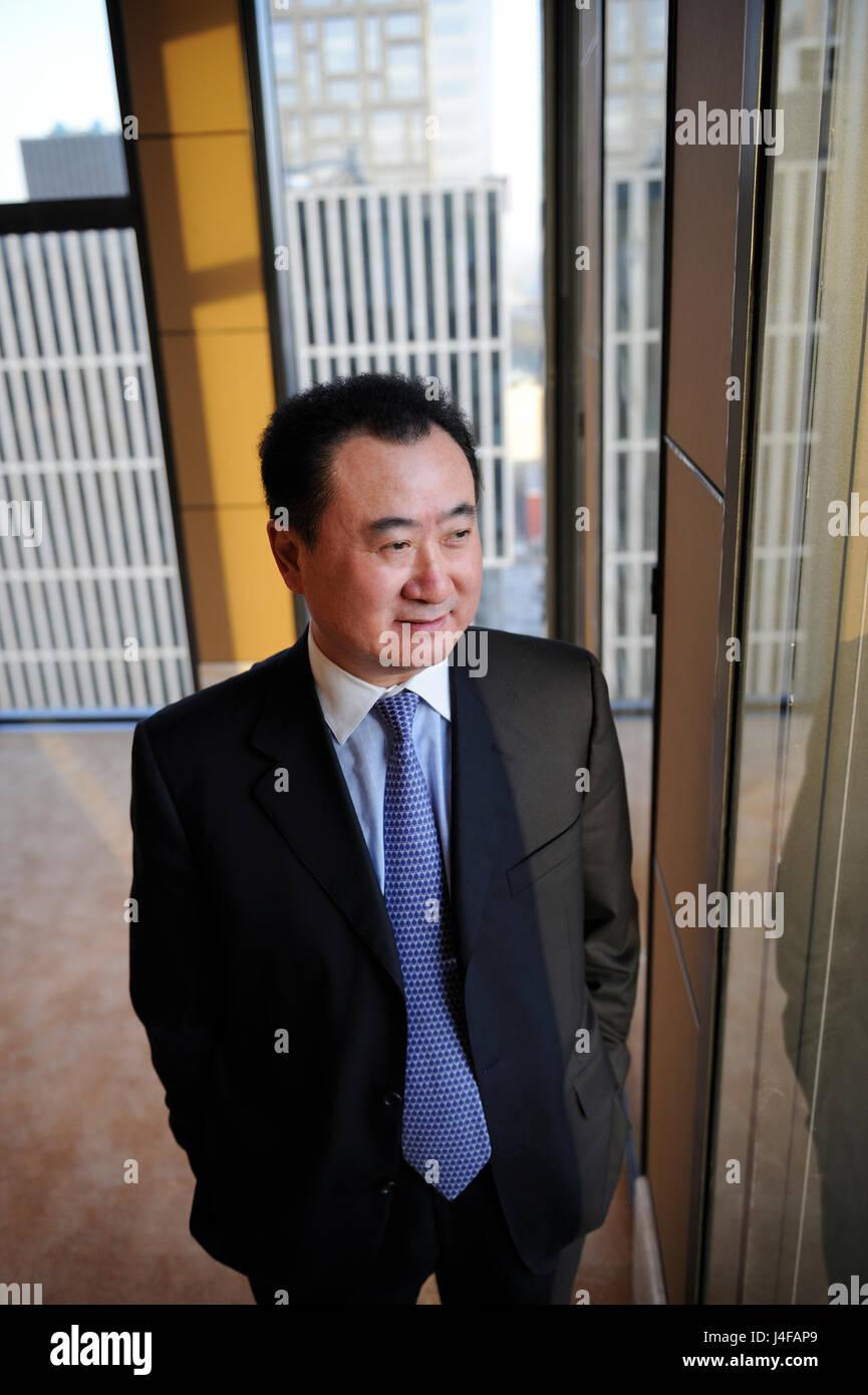 Wang Jianlin, Chinese billionaire and the chairman of Dalian