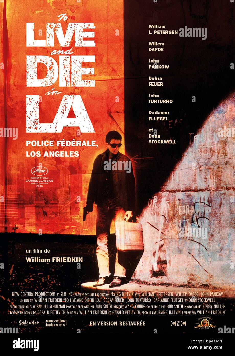 To Live and Die in L A  Year : 1985 USA Director : William