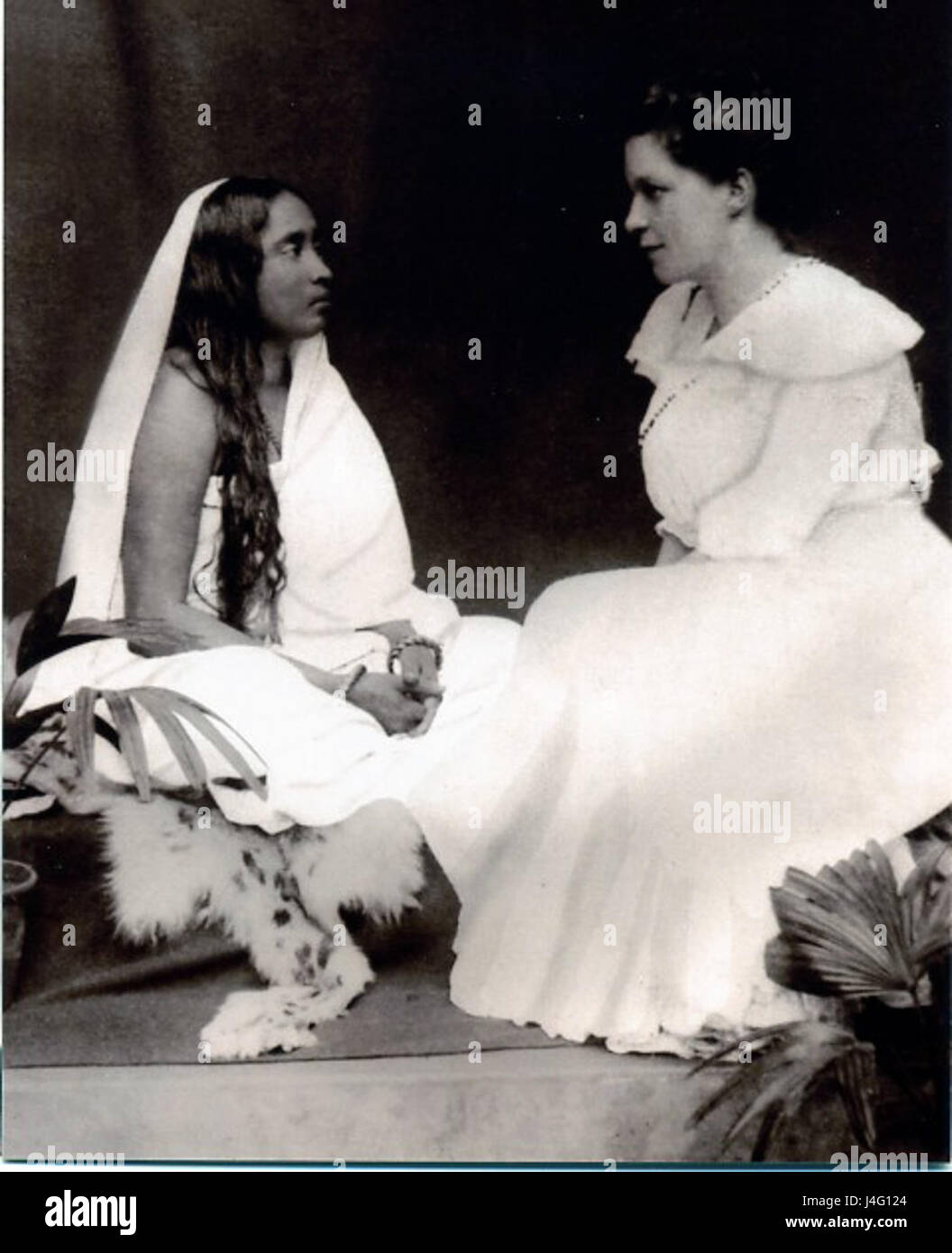 Sarada Devi and Sister Nivedita - Stock Image