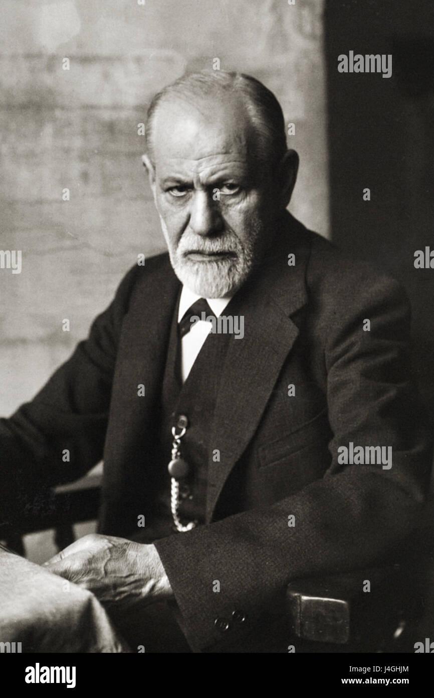 Sigmund Freud 1926 - Stock Image