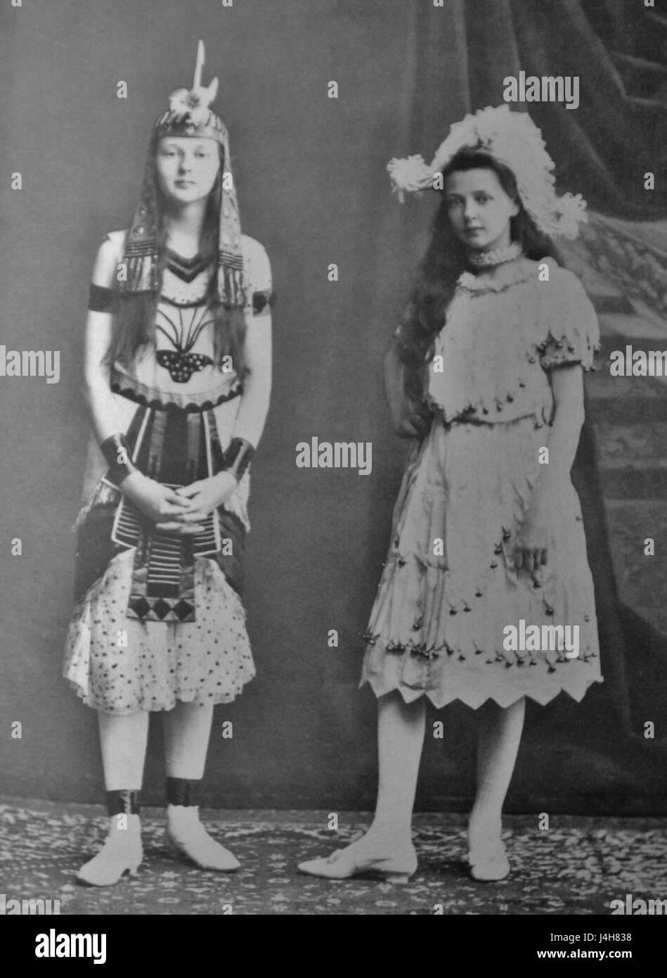 Stolypina Doceri. 1900 e. Karl Bulla - Stock Image