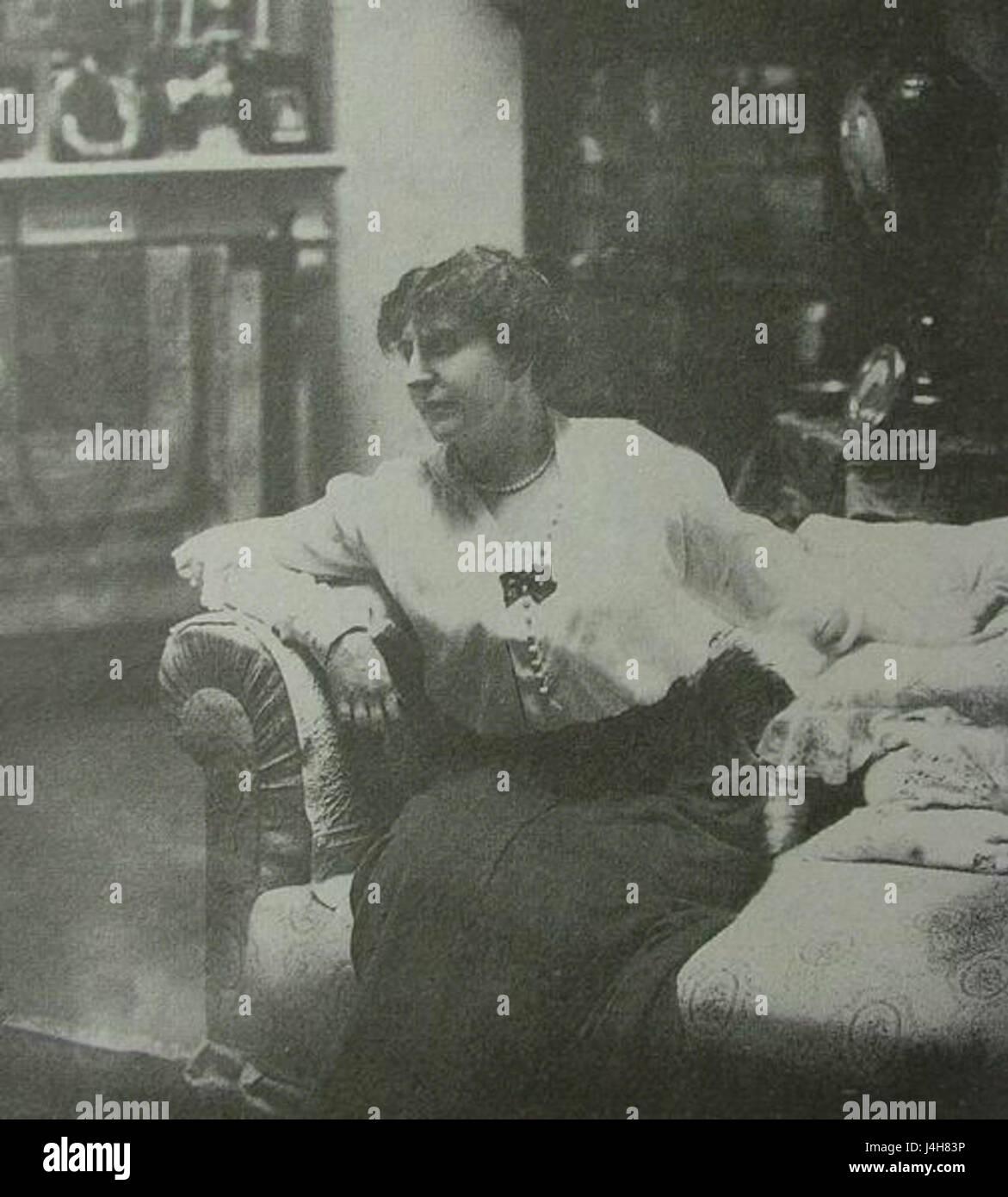 Suhomlinova E.V. 1914 Karl Bulla - Stock Image