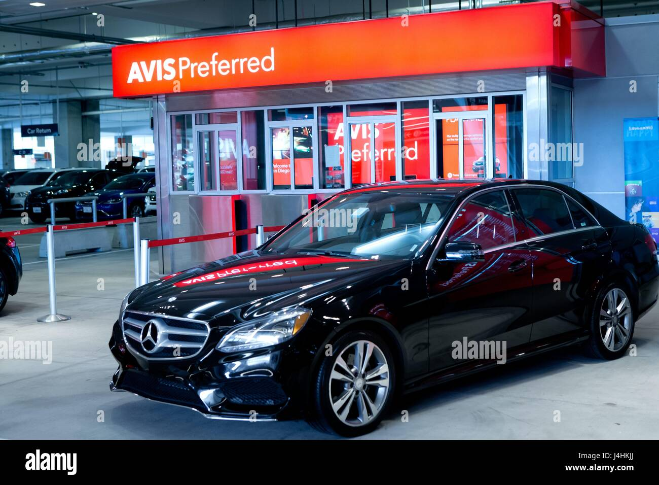 avis car rental san diego	  Mercedes at Avis at The Rental Car Center at San Diego International ...