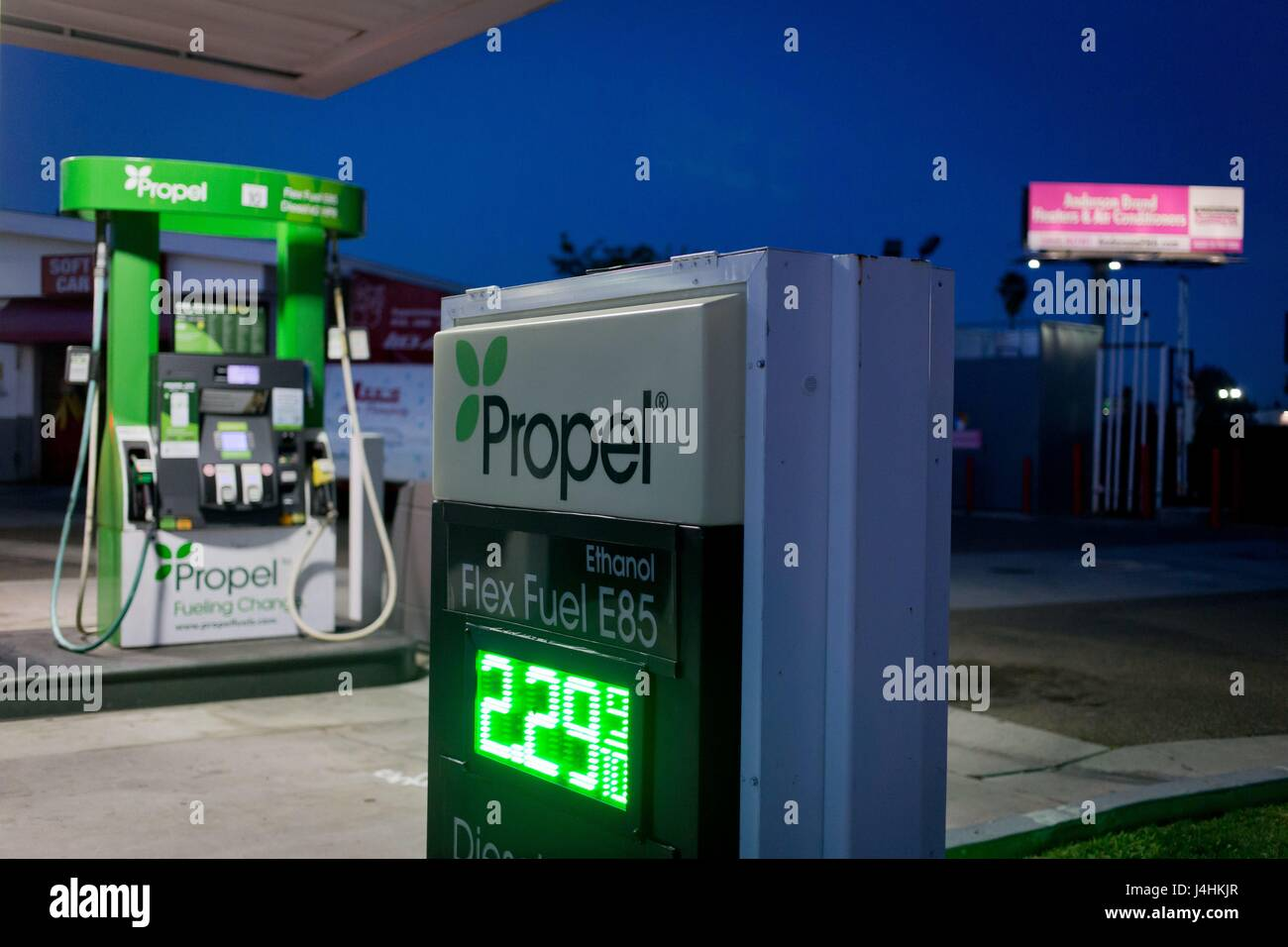 Flex Fuel Gas Stations >> Propel Gas Station Selling Flex Fuel E85 And Diesel Hpr Aka
