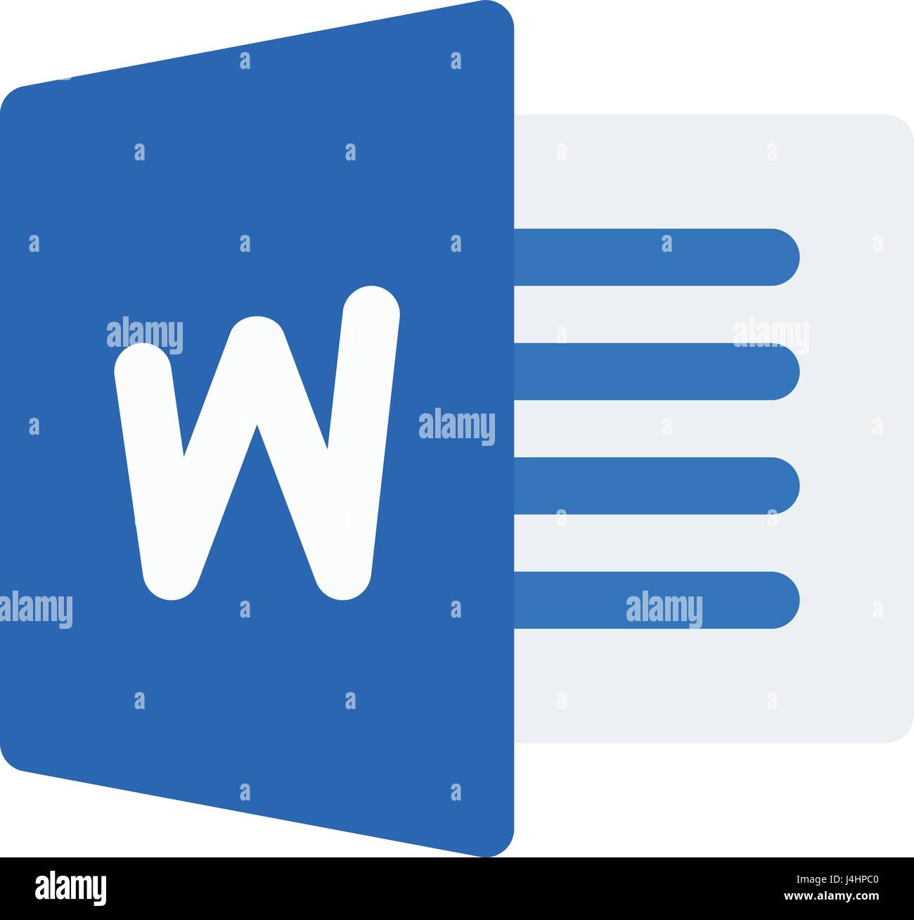 microsoft word Stock Vector Art & Illustration, Vector Image