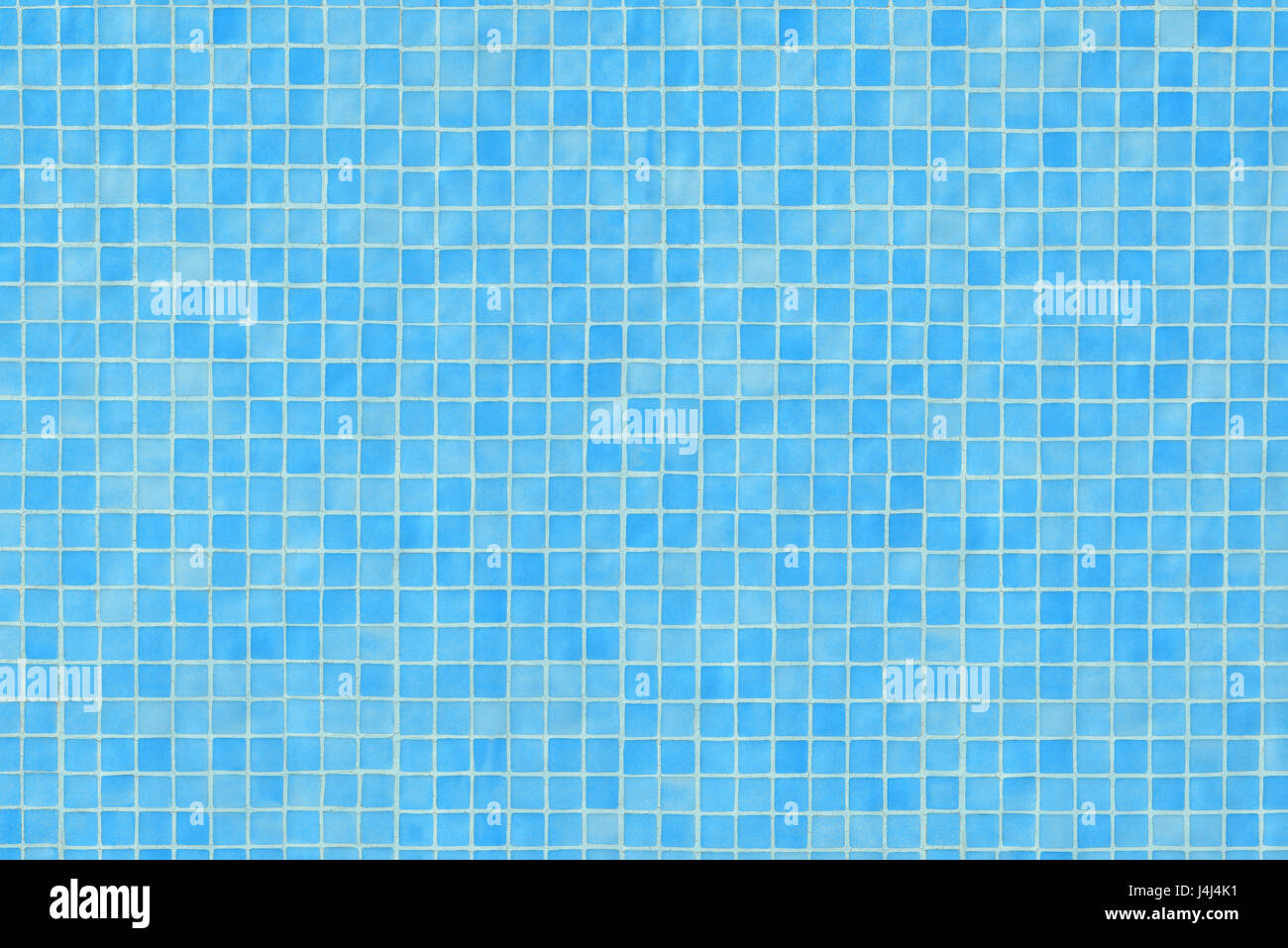 Blue ceramic tile mosaic in swimming pool texture. Horizontal Stock ...