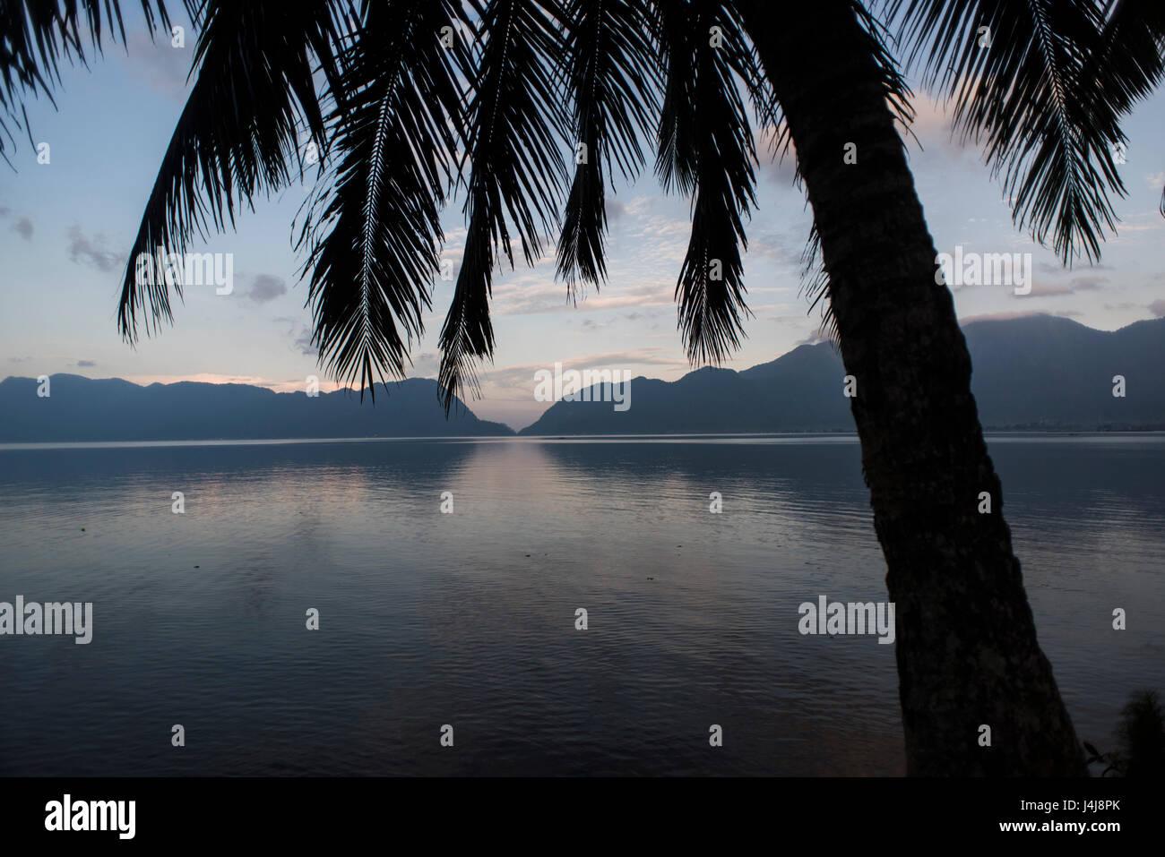 Lake Maninjau, Sumatra, Indonesia. - Stock Image