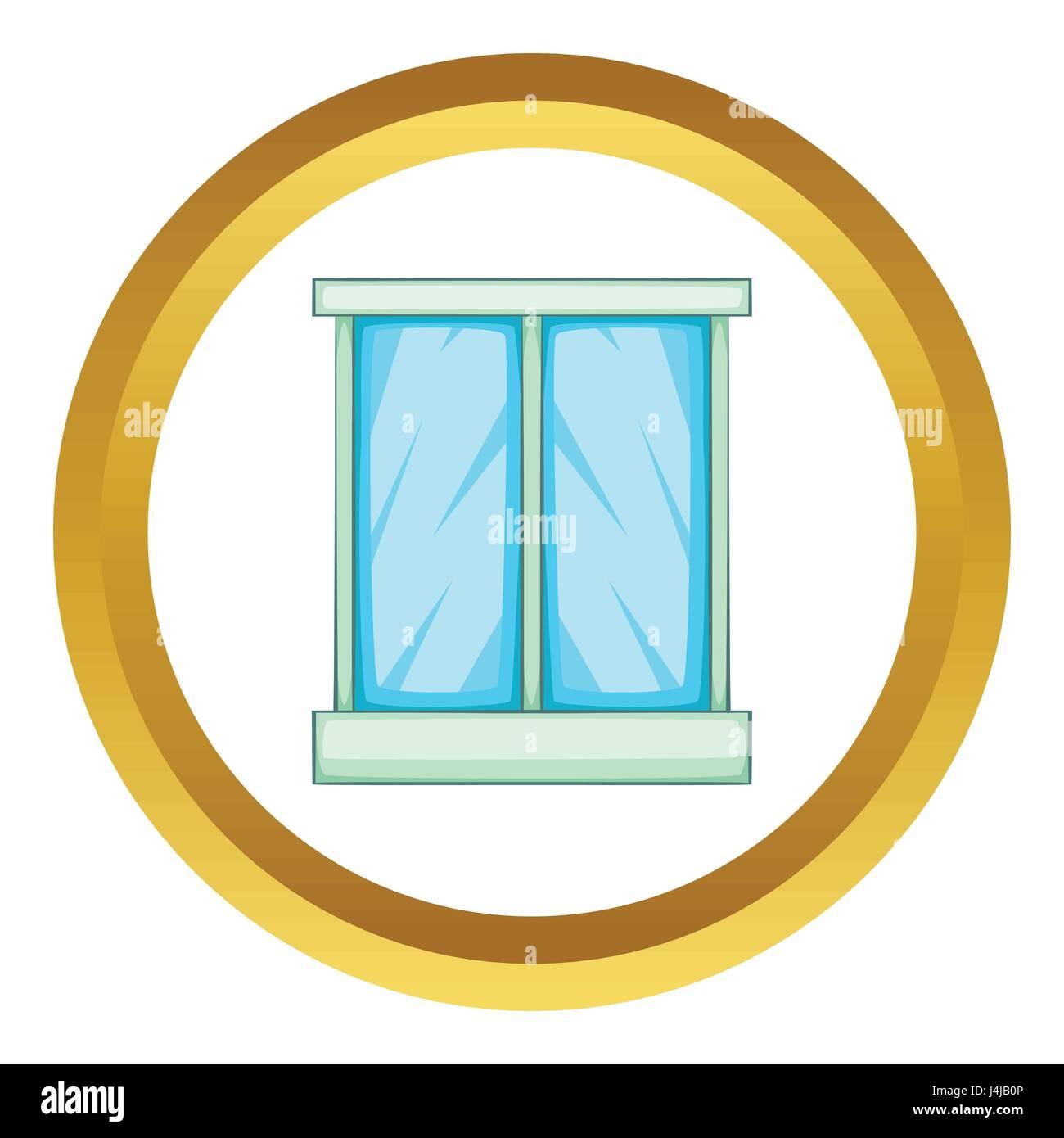 Window vector icon Stock Vector
