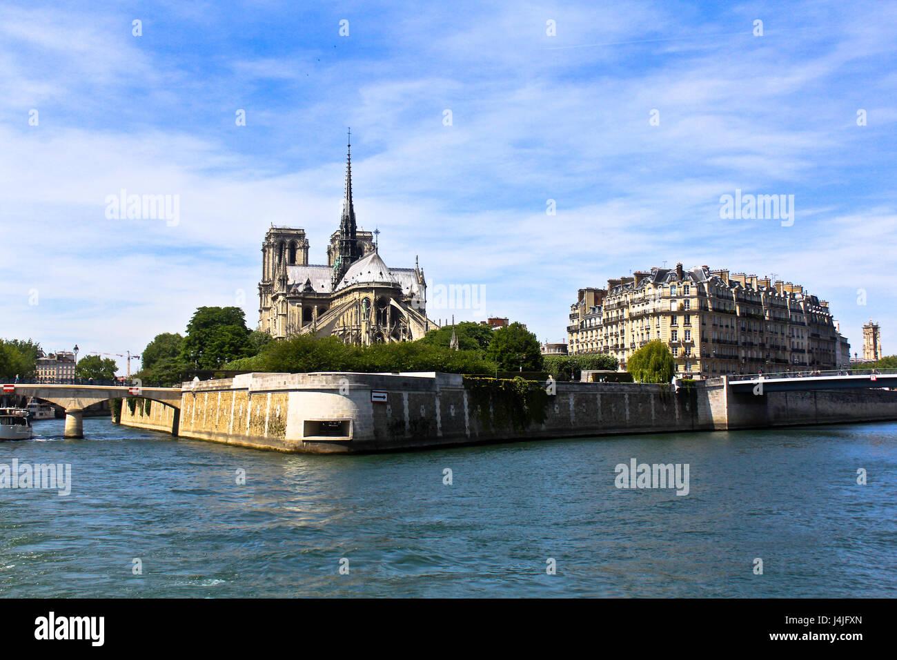 Notre-dame de paris - Stock Image