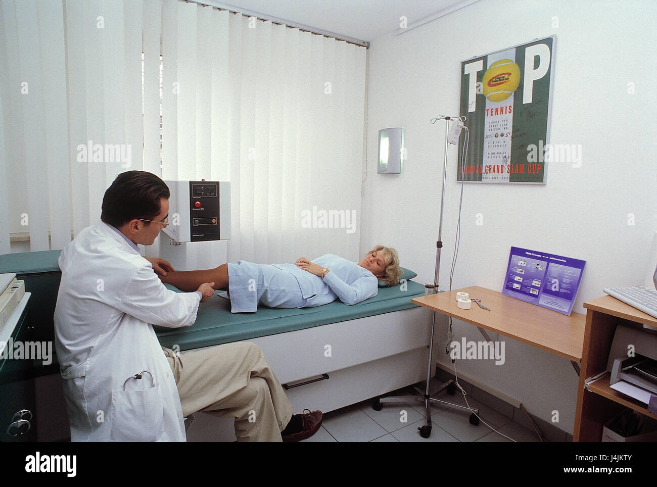 Medical Practise Examination Room Doctor Patient
