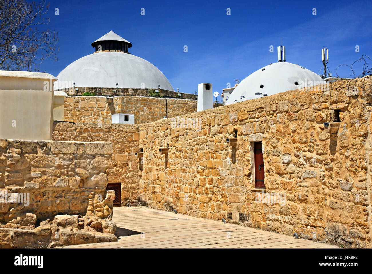 The Omerye hamam in the old town of Nicosia (Lefkosia), Cyprus - Stock Image